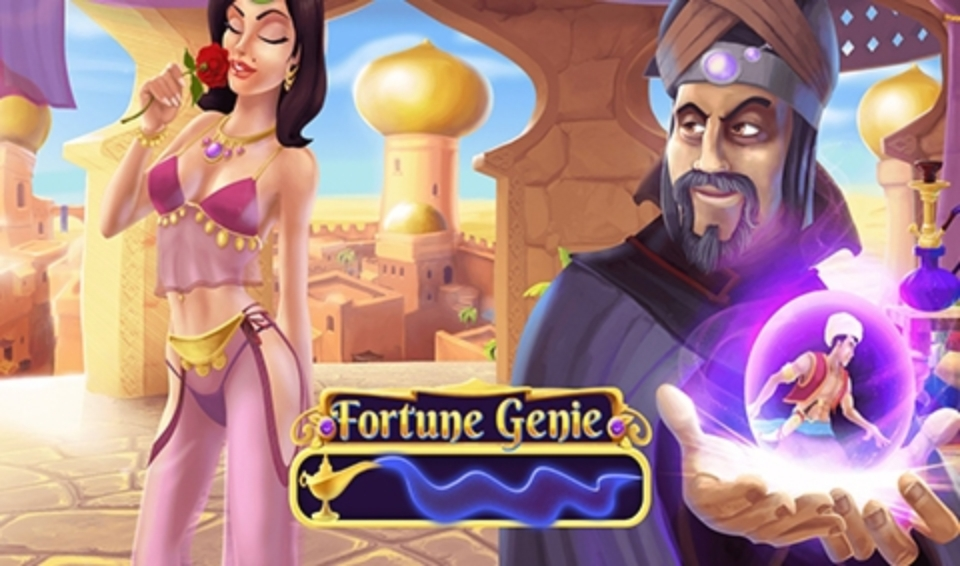 The Fortune Genie Online Slot Demo Game by 7mojos