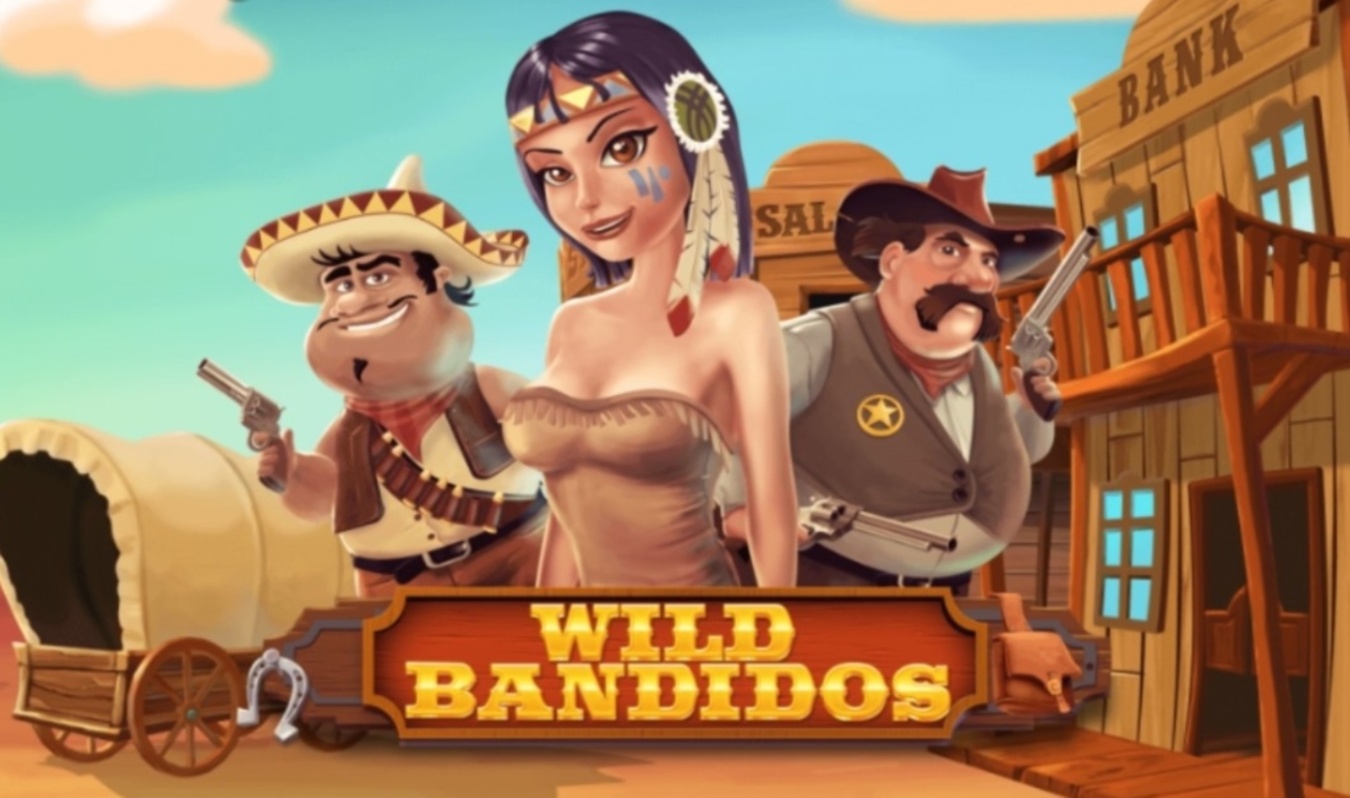 The Wild Bandidos Online Slot Demo Game by 7mojos