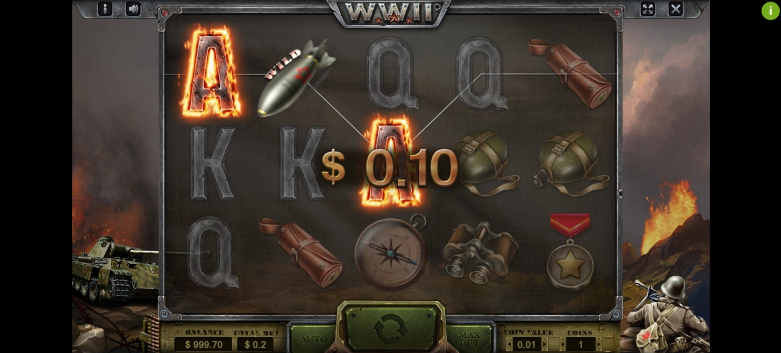 Win Money in WWII Free Slot Game by Charismatic