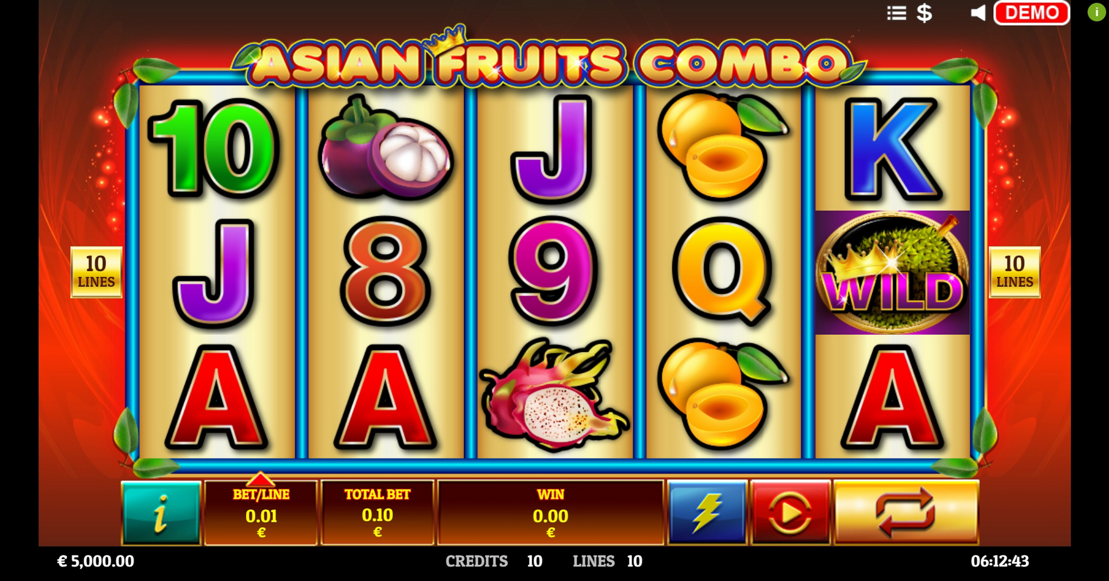 Play Asian Fruit Combo Free Casino Slot Game by Givme Games