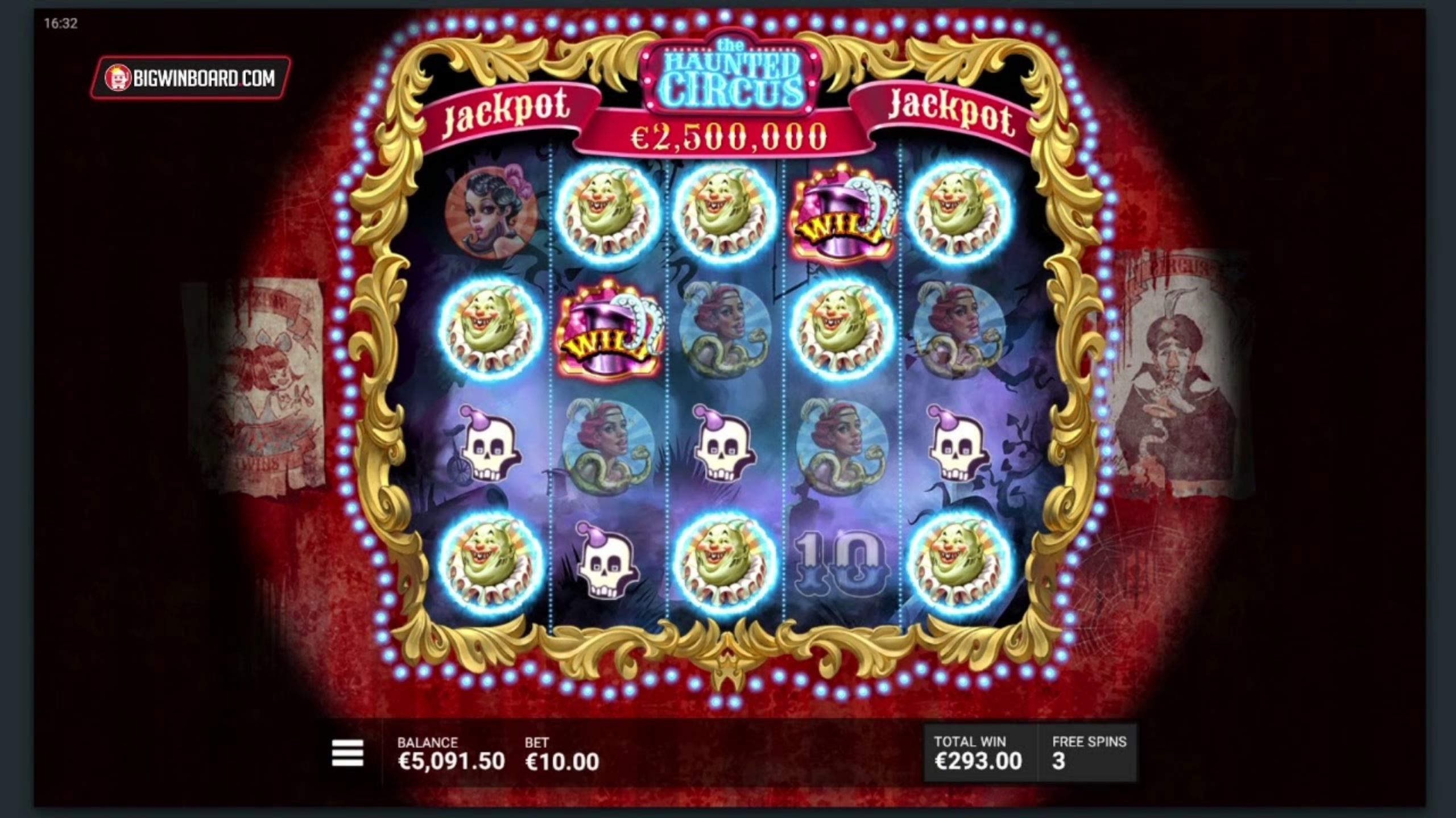 The Haunted Circus Online Slot Demo Game by Hacksaw Gaming