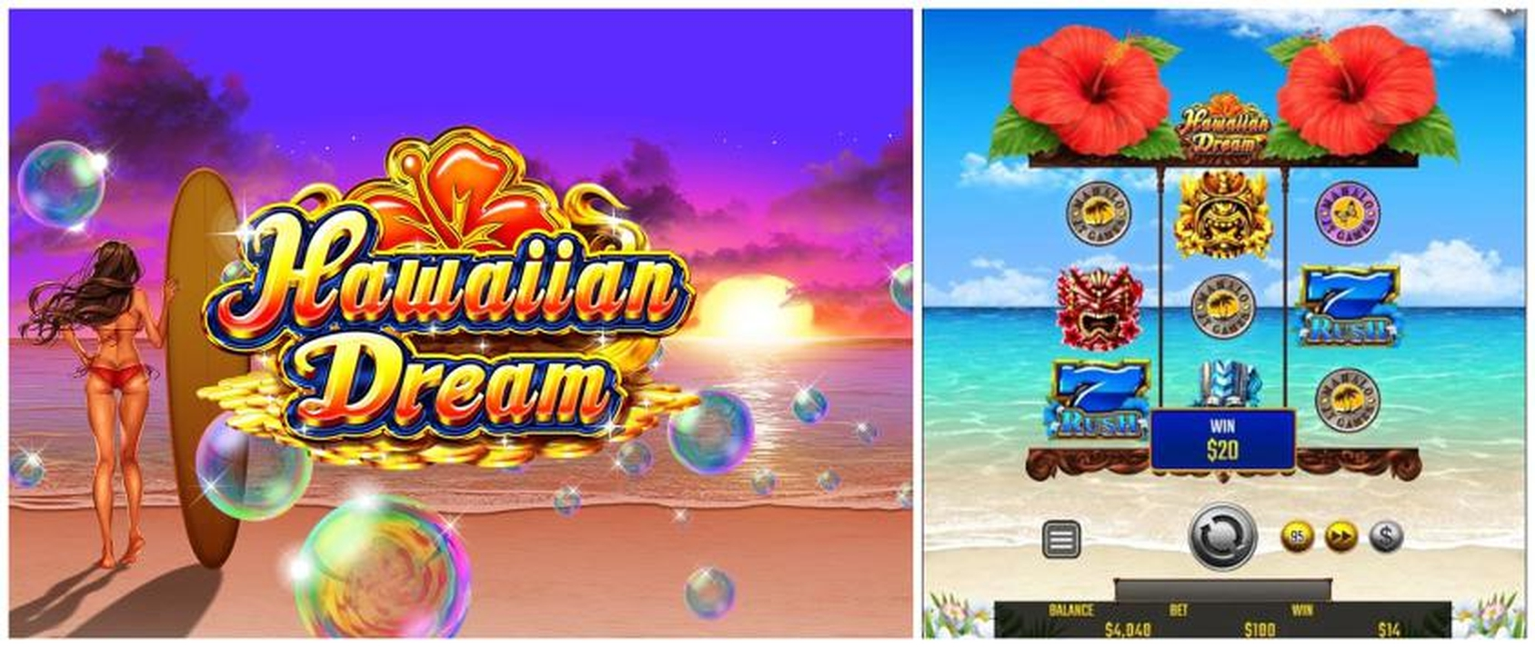 The Hawaiian Dream Online Slot Demo Game by JTG
