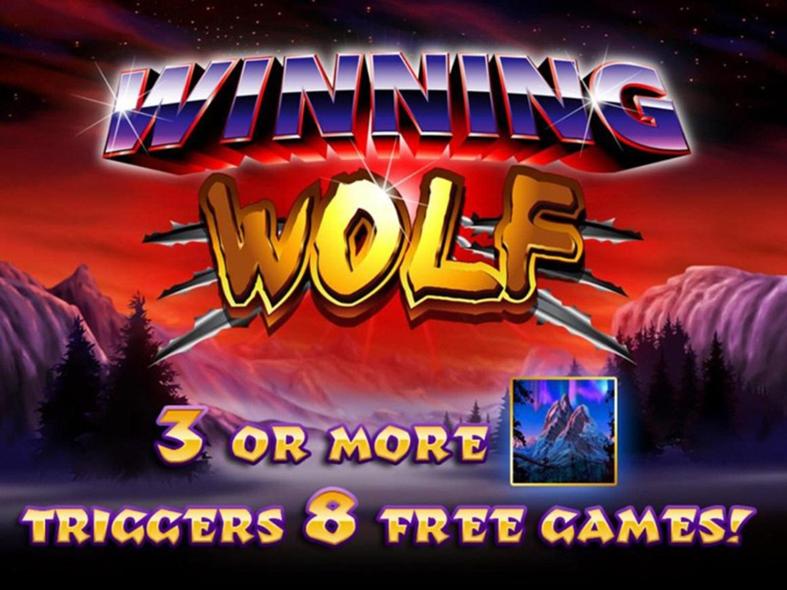The Winning Wolf Online Slot Demo Game by Ainsworth Gaming Technology
