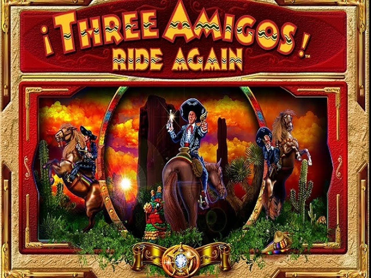 The Three Amigos Online Slot Demo Game by AlteaGaming
