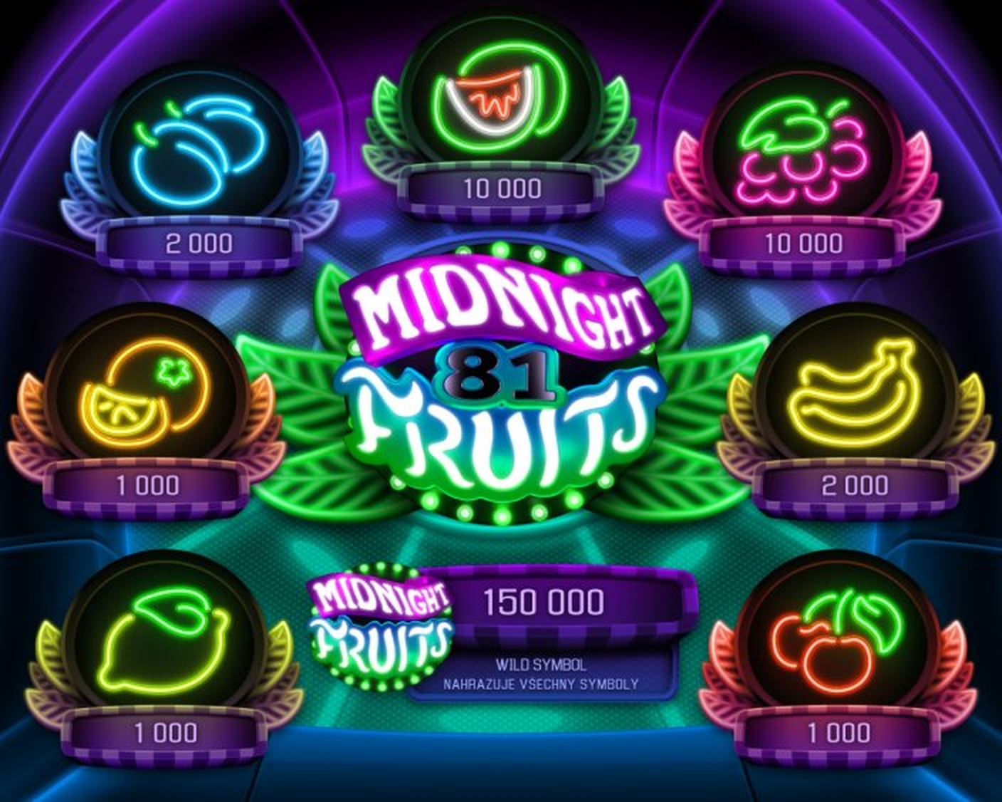 The Midnight Fruits Online Slot Demo Game by Apollo Games