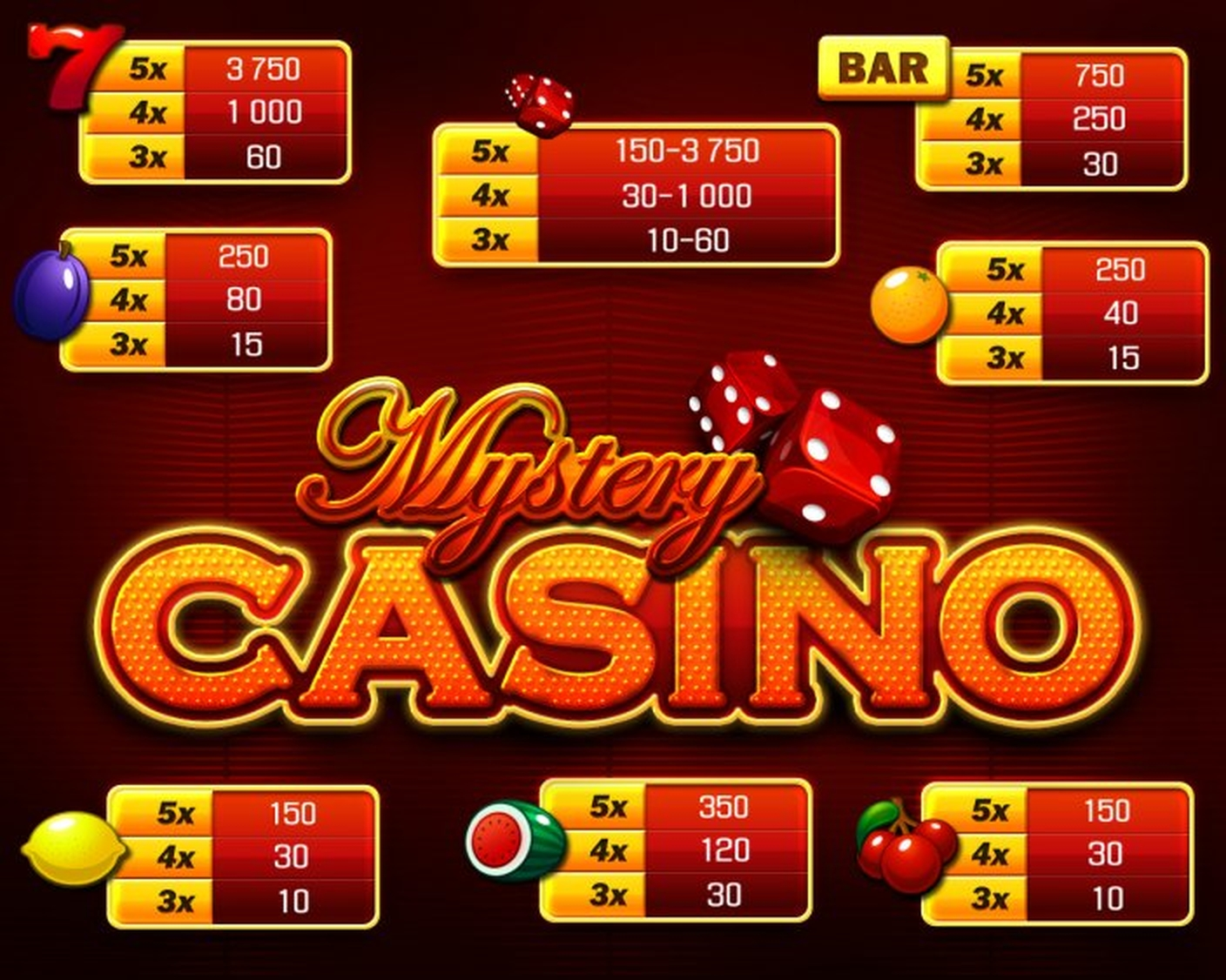 The Mystery Casino Online Slot Demo Game by Apollo Games