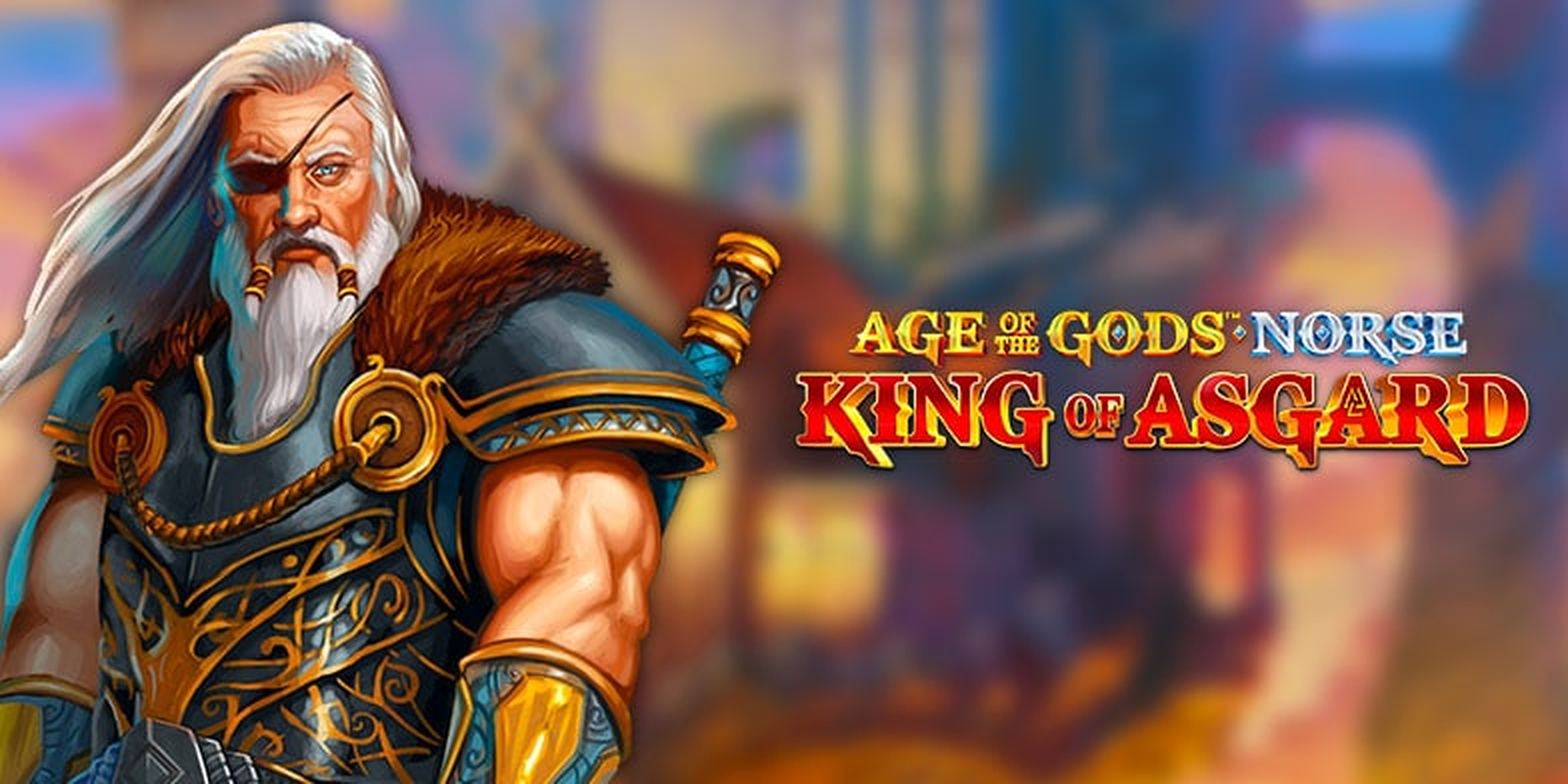 The Age of the Gods Norse King of Asgard Online Slot Demo Game by Ash Gaming