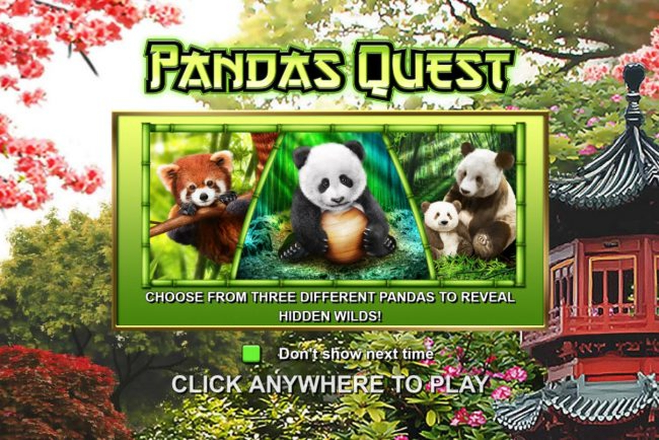 The Pandas Quest Online Slot Demo Game by Aurify Gaming