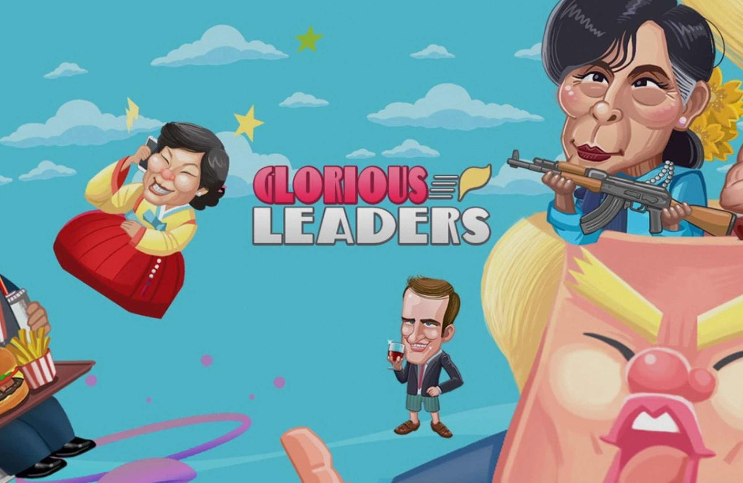 The Glorious Leaders Online Slot Demo Game by Banana Whale Studios