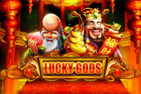 The Lucky Gods Online Slot Demo Game by Banana Whale Studios