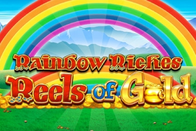 Reels in Rainbow Riches Reels of Gold Slot Game by Barcrest Games