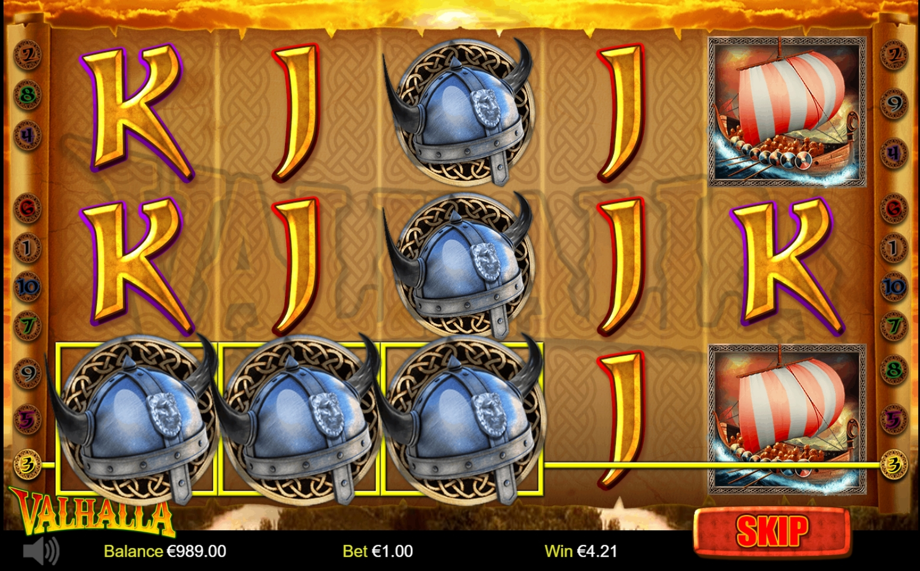 Win Money in Valhalla (Betdigital) Free Slot Game by Betdigital