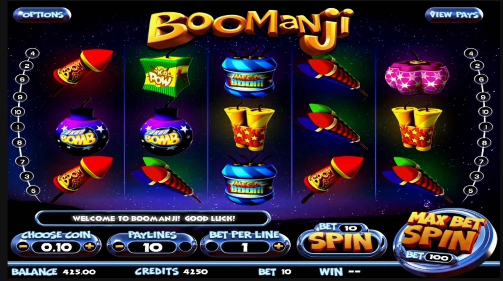 Reels in Boomanji Slot Game by Betsoft