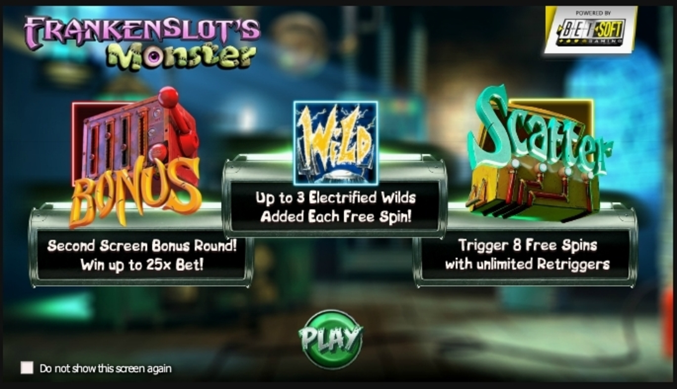 Play Frankenslot's Monster Free Casino Slot Game by Betsoft