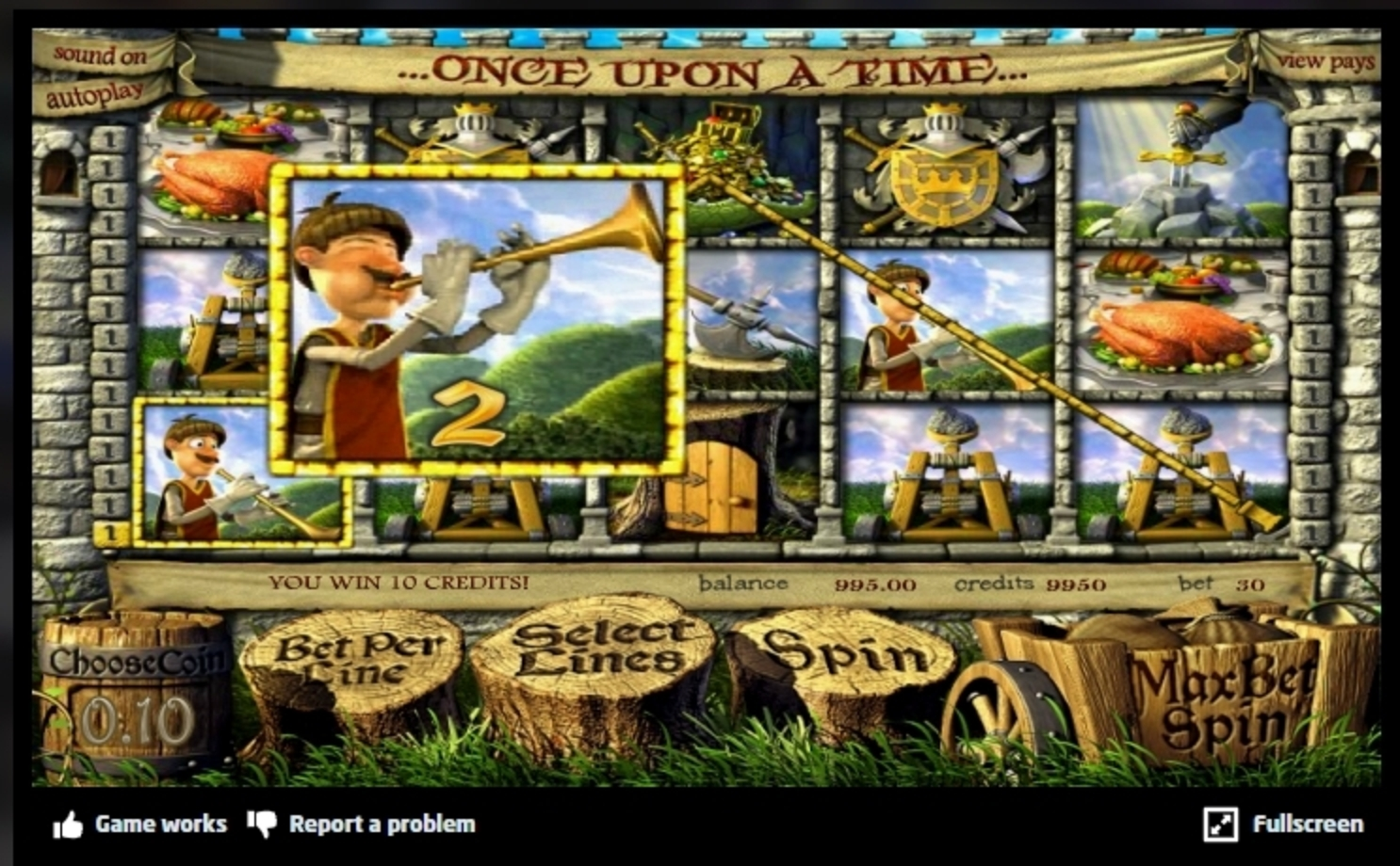 Win Money in Once Upon a Time (Betsoft) Free Slot Game by Betsoft