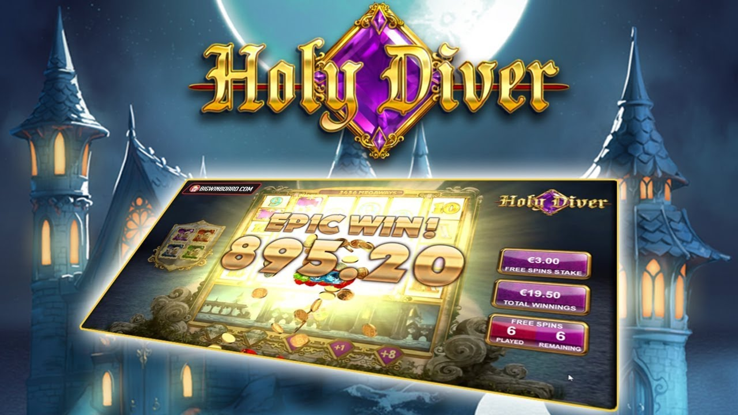 The Holy Diver Online Slot Demo Game by Big Time Gaming