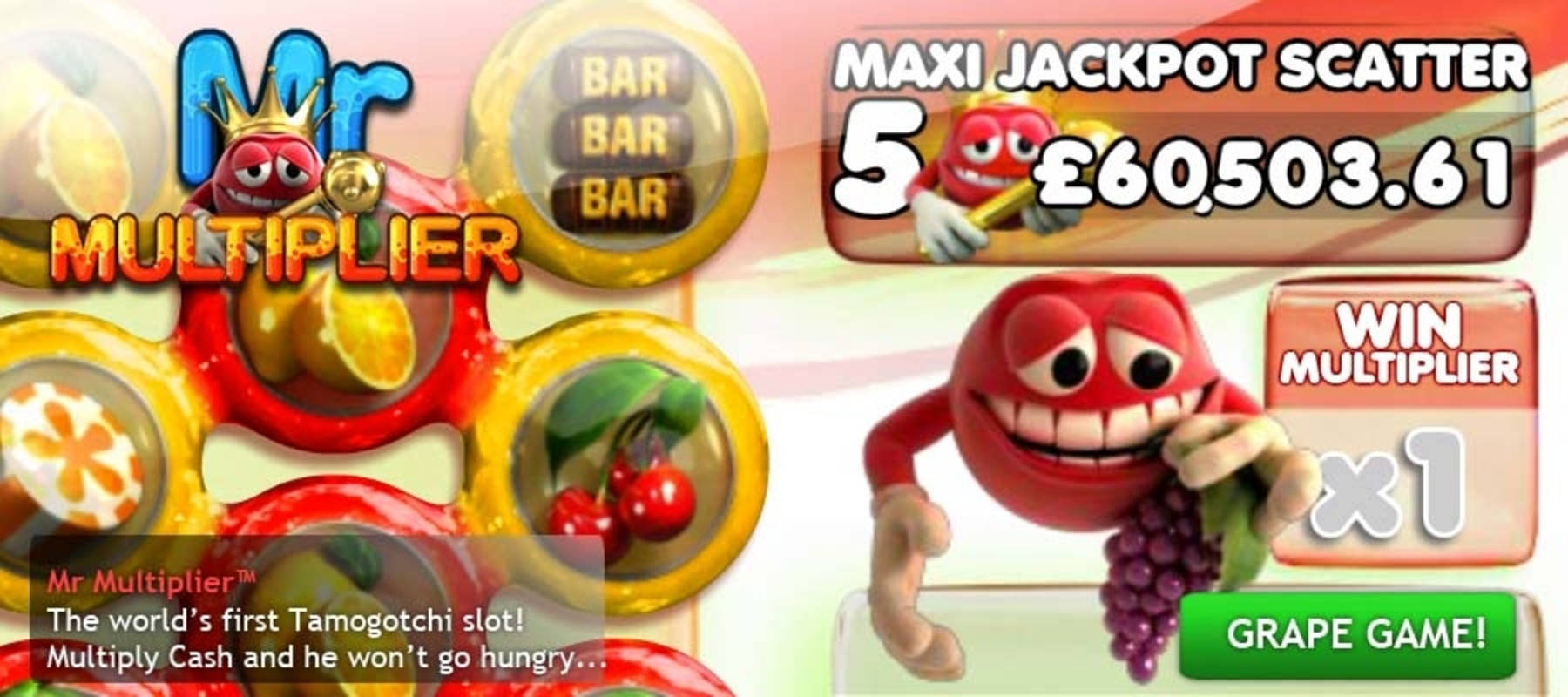 The Mr Multiplier Online Slot Demo Game by Big Time Gaming