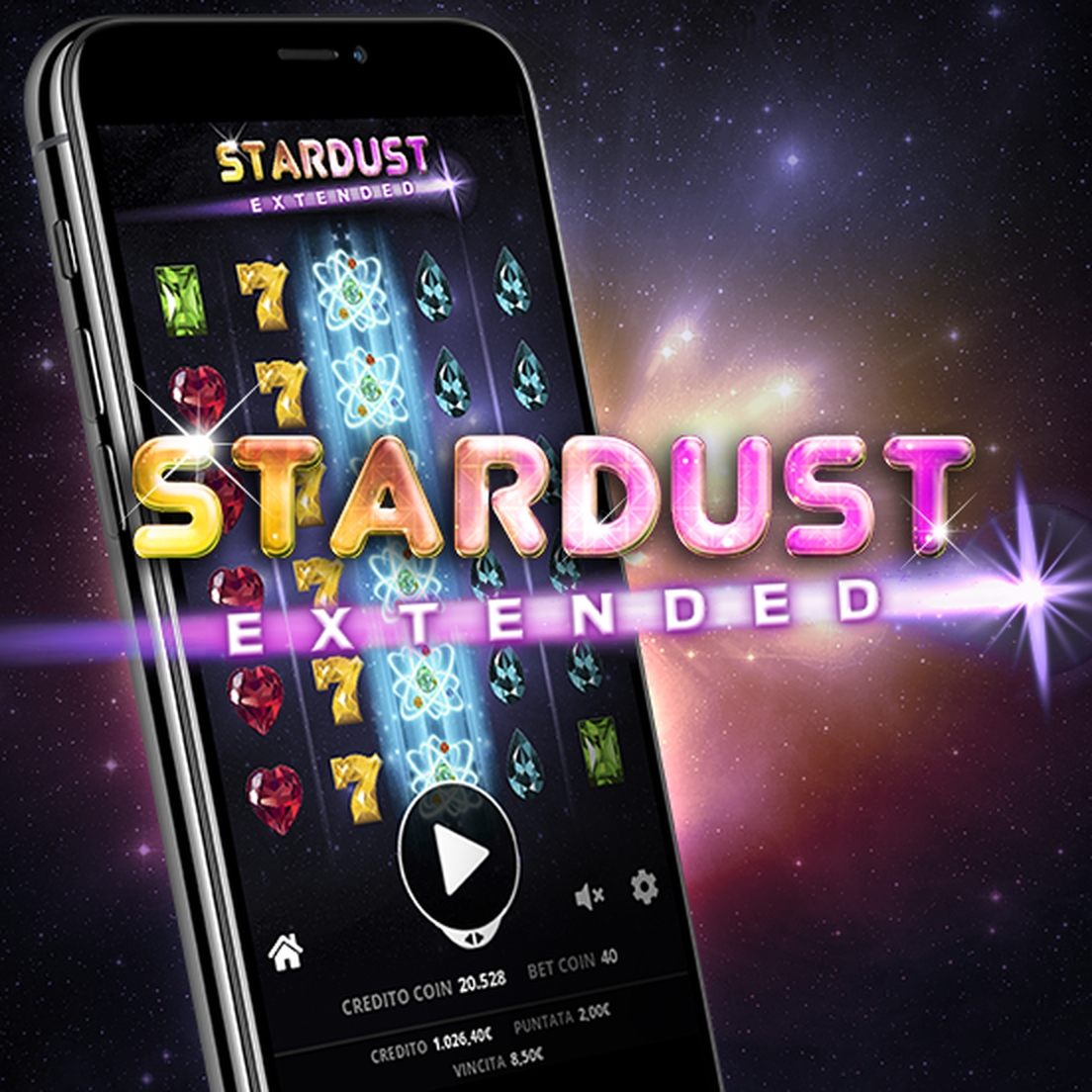 The Stardust Evolution Online Slot Demo Game by Capecod Gaming