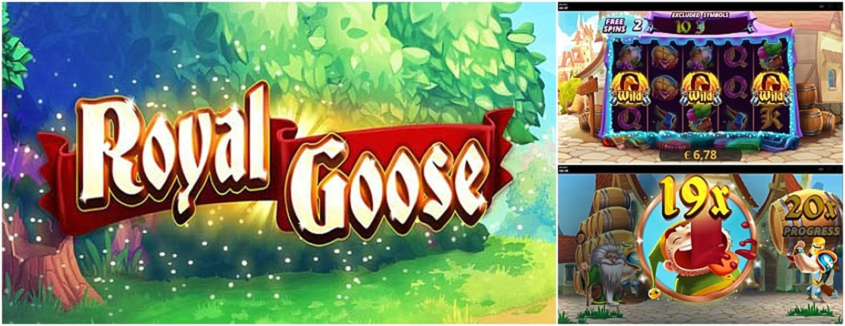 The Royal Goose Online Slot Demo Game by Cayetano Gaming