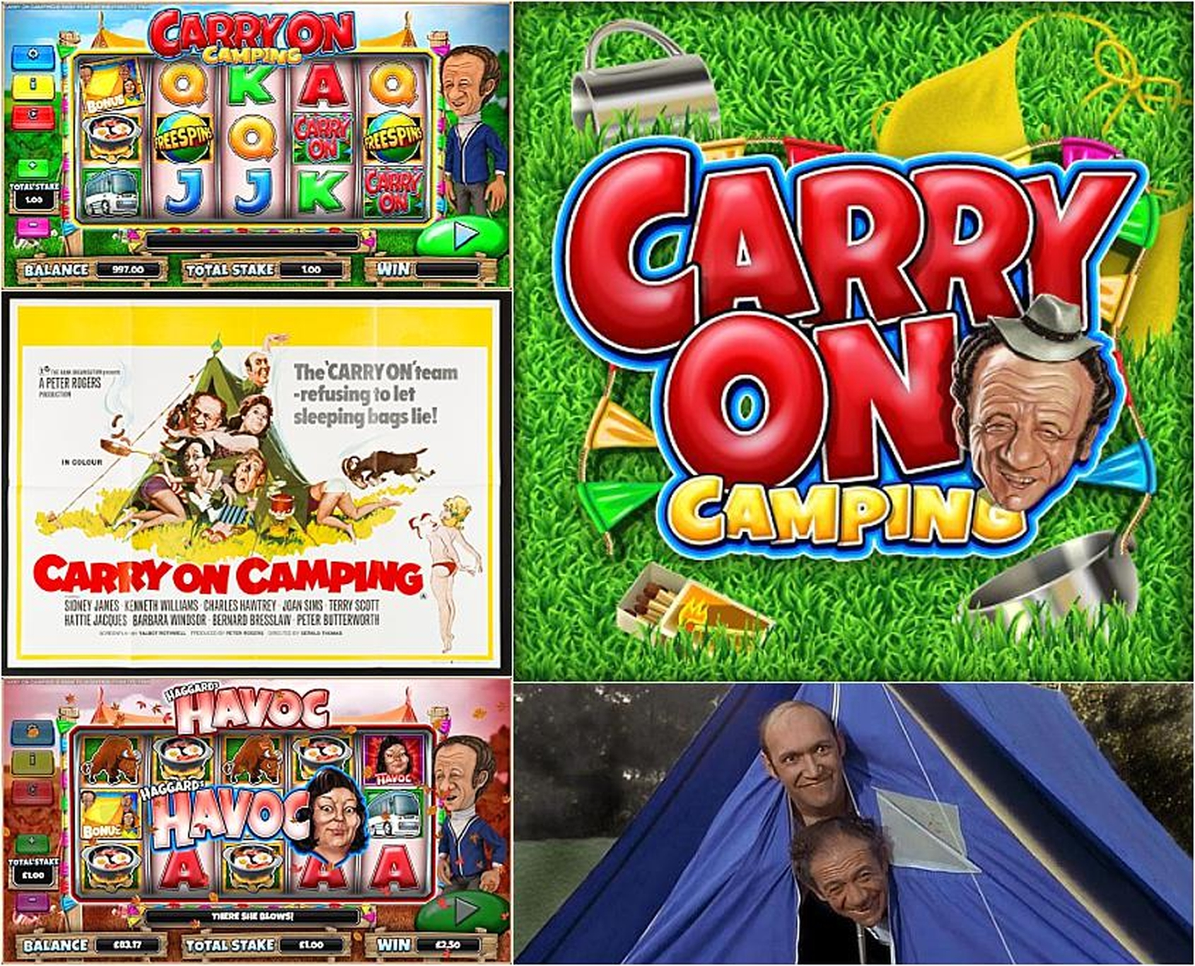 The Carry On Camping Online Slot Demo Game by CORE Gaming