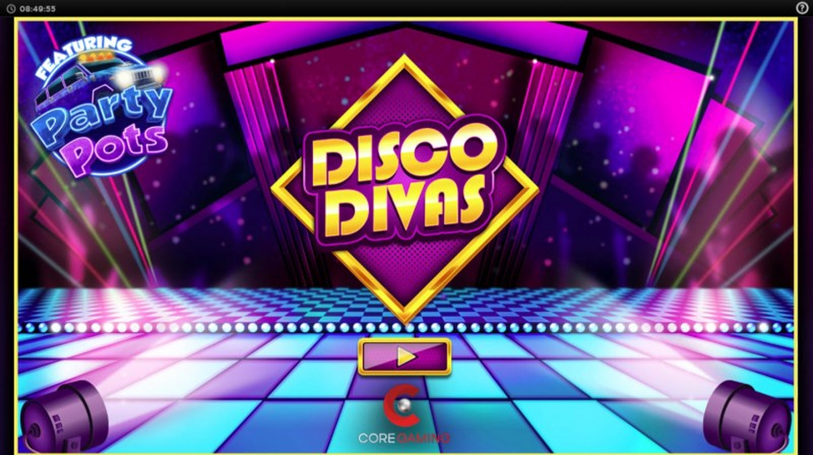 The Disco Divas Online Slot Demo Game by CORE Gaming