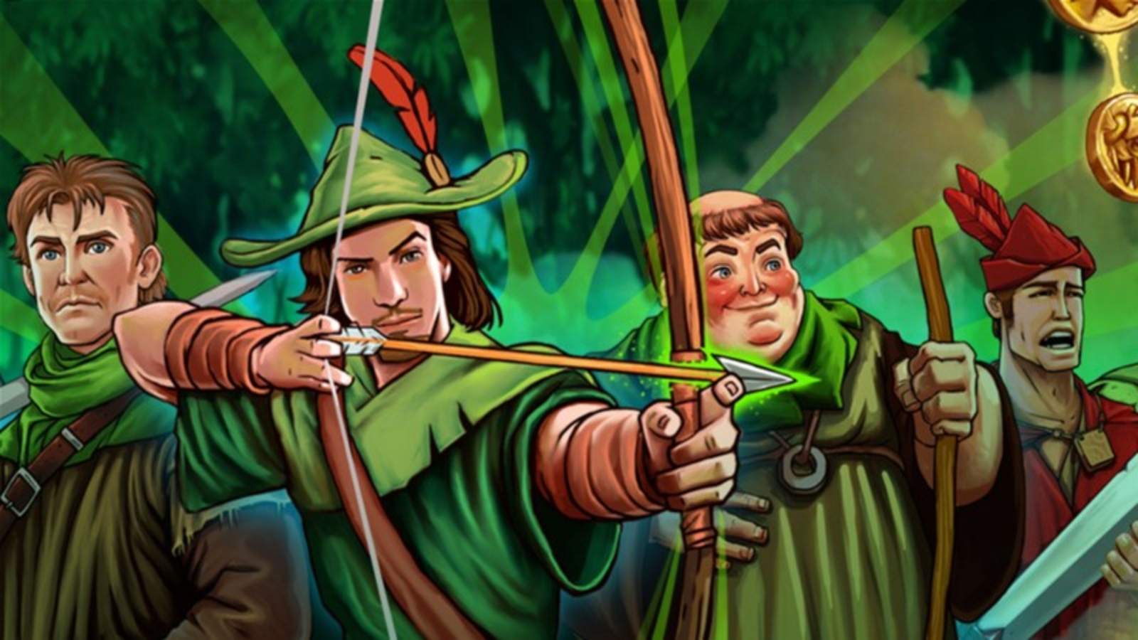 The Robin Hood (CORE Gaming) Online Slot Demo Game by CORE Gaming
