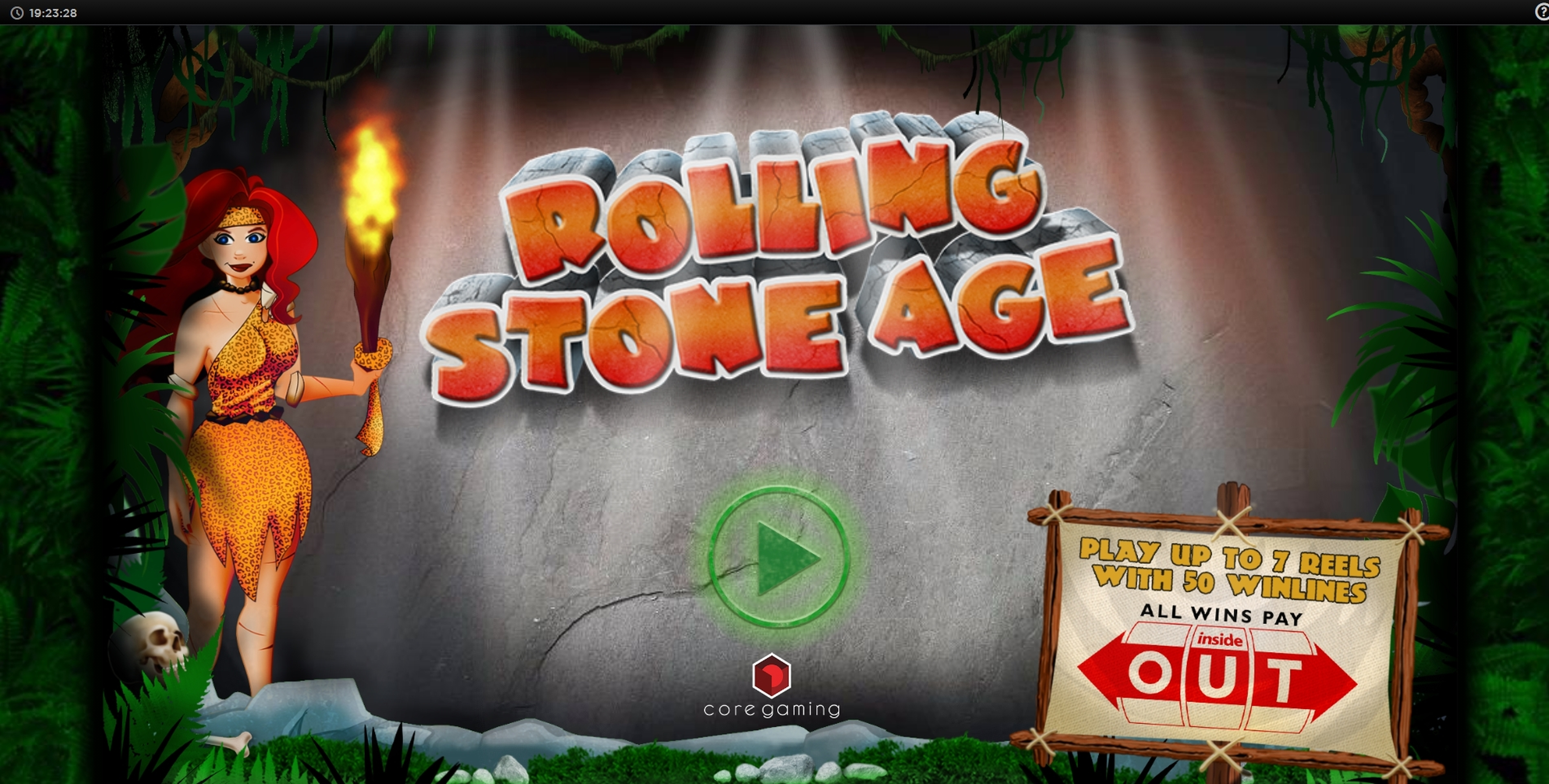 Play Rolling Stone Age Free Casino Slot Game by CORE Gaming