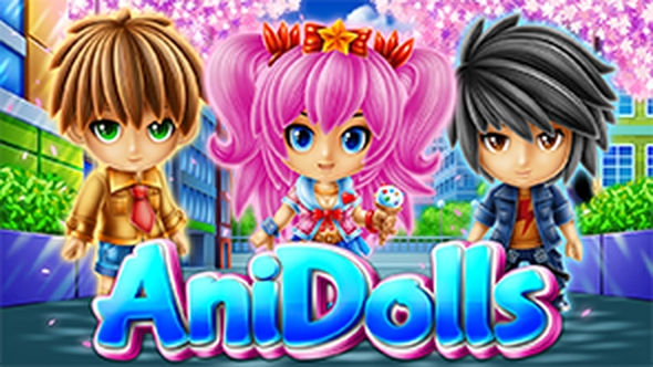 The AniDolls Online Slot Demo Game by DLV