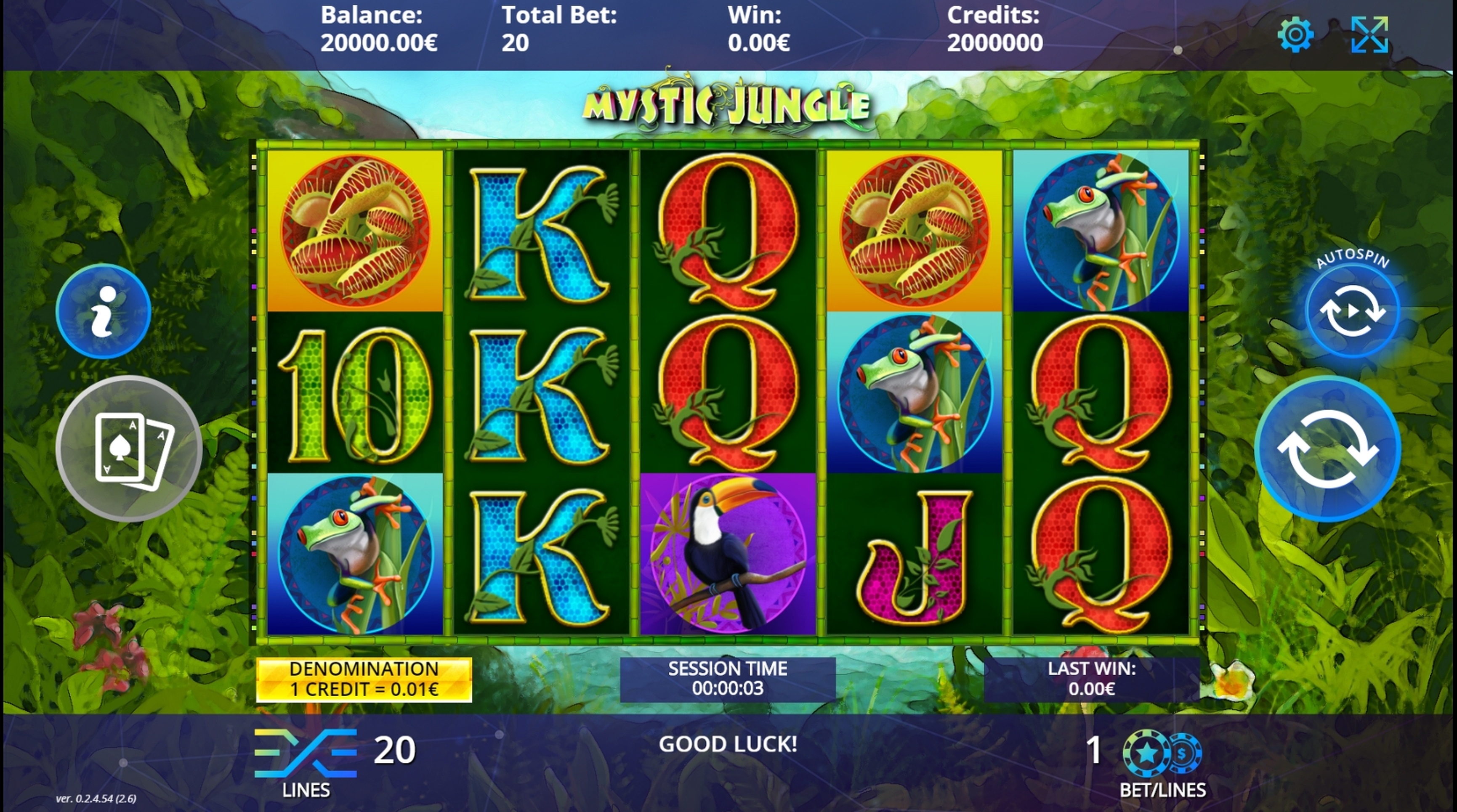 Reels in Mystic Jungle Slot Game by DLV