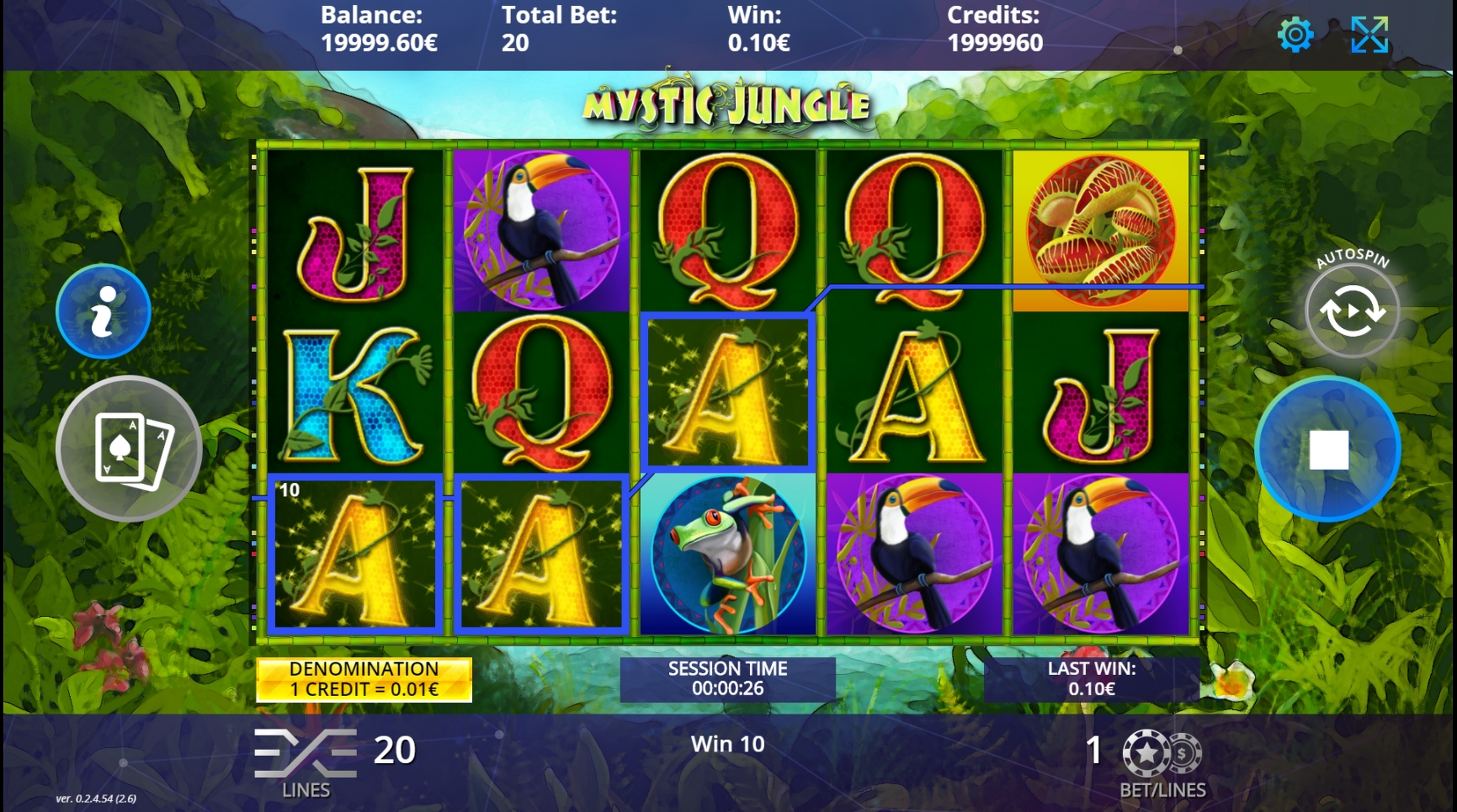 Win Money in Mystic Jungle Free Slot Game by DLV