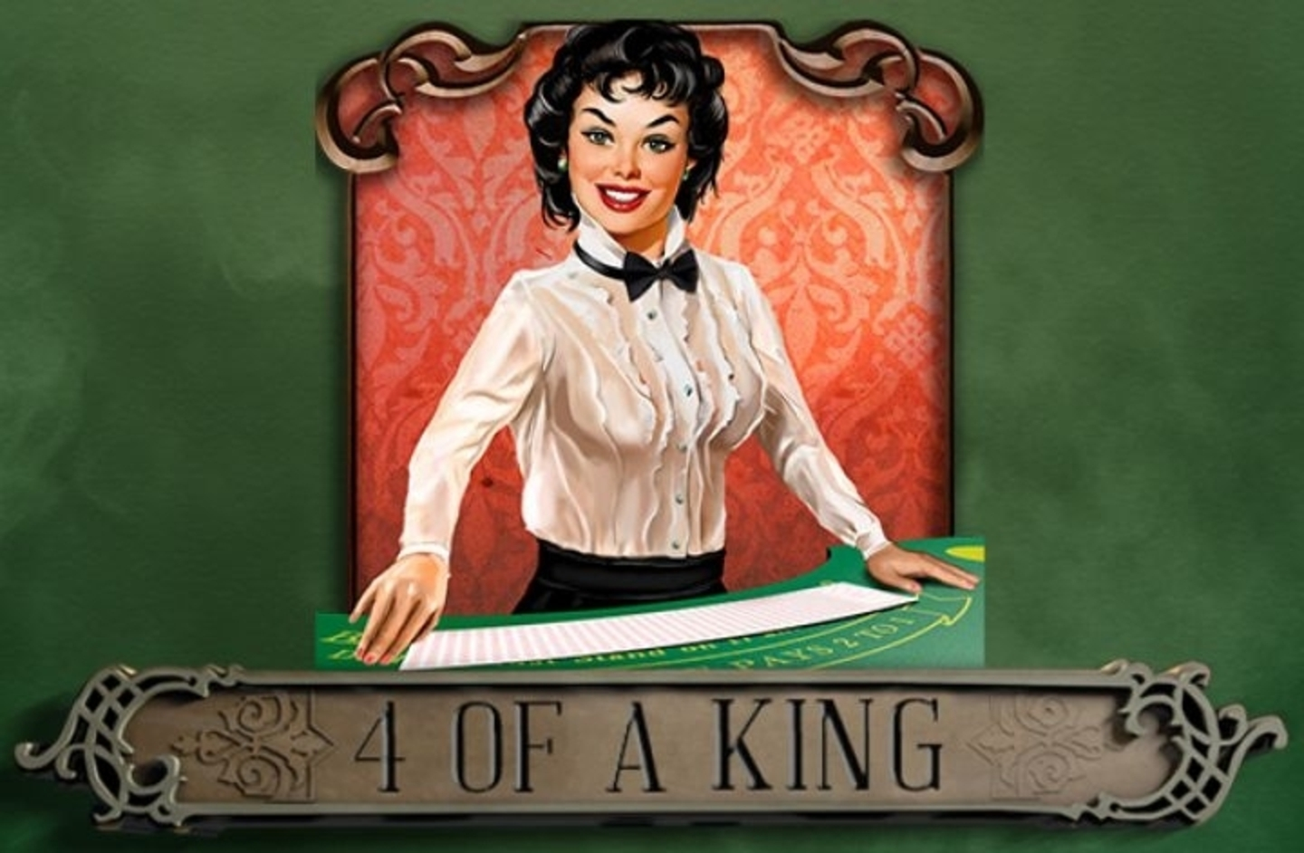 The 4 of a King Online Slot Demo Game by Endorphina