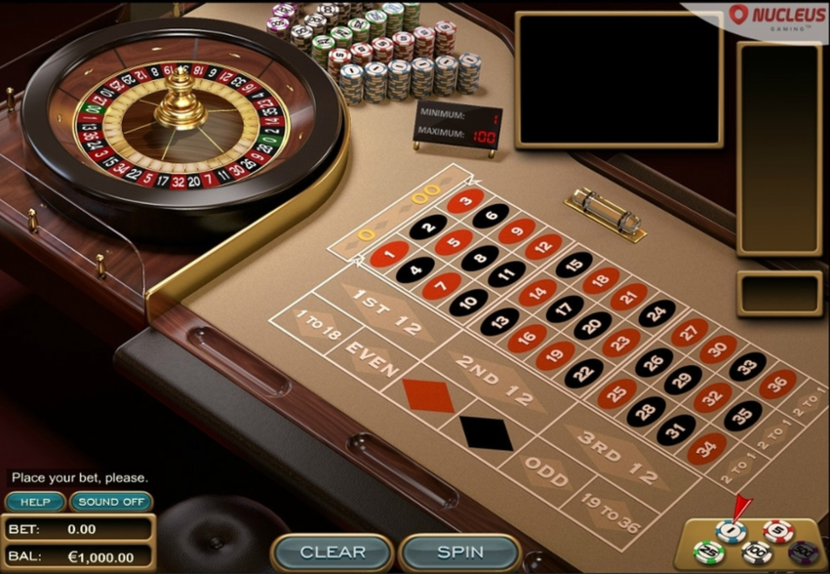 The Global Euro Roulette (Espresso Games) Online Slot Demo Game by Espresso Games