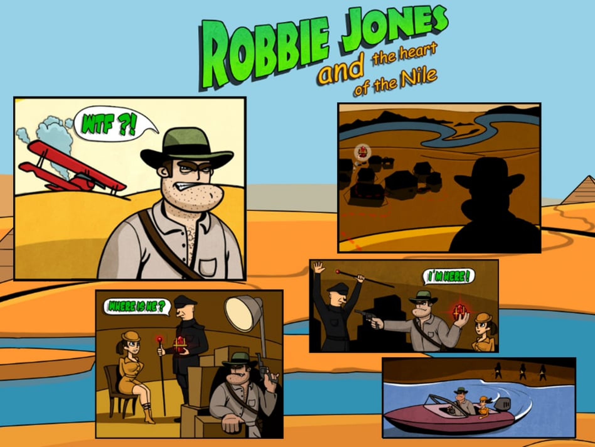 The Robbie Jones Online Slot Demo Game by Fugaso