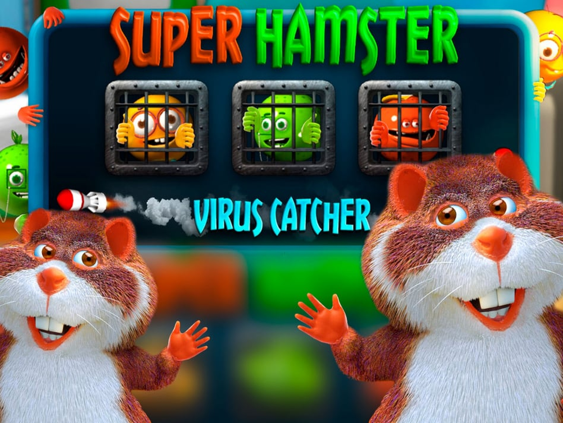 The Super Hamster Online Slot Demo Game by Fugaso