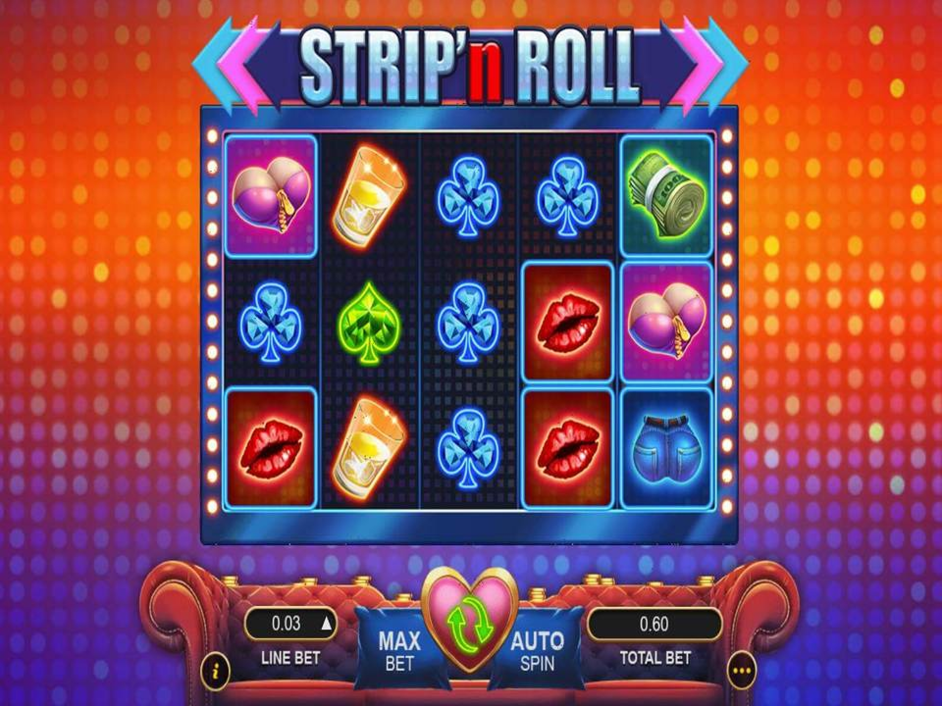 The Strip 'n Roll Online Slot Demo Game by Gameplay Interactive