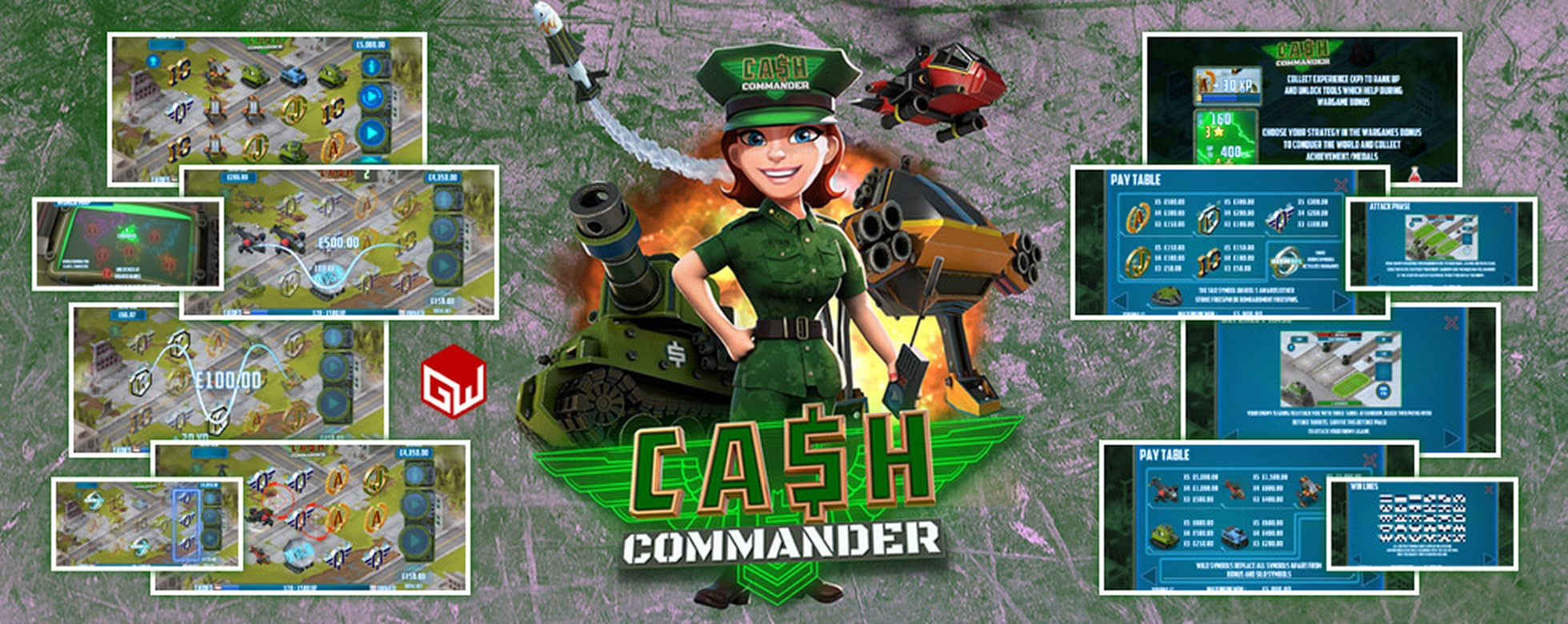 The Cash Commander Online Slot Demo Game by Games Warehouse