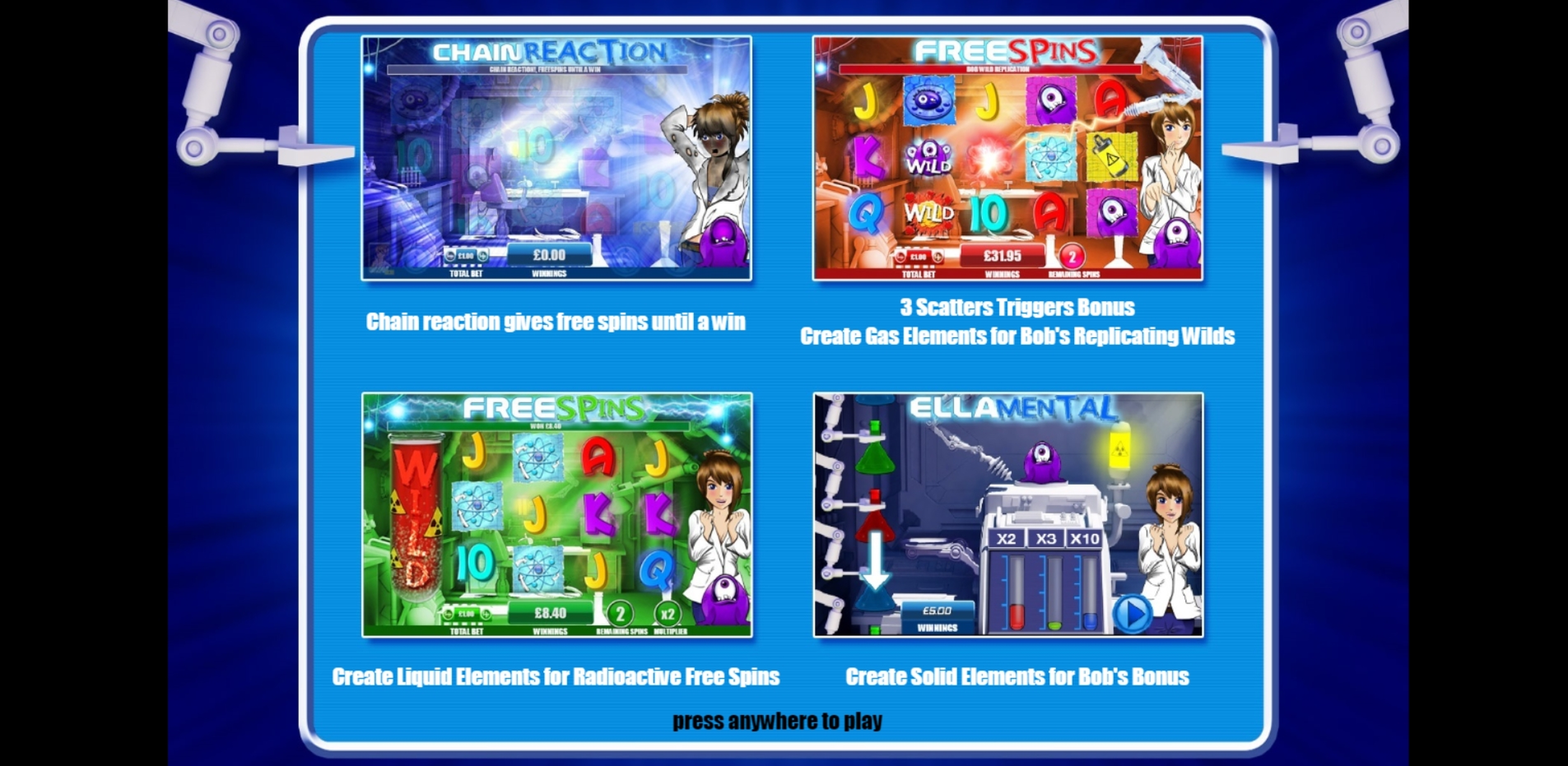 Play Ella Mental Free Casino Slot Game by Games Warehouse