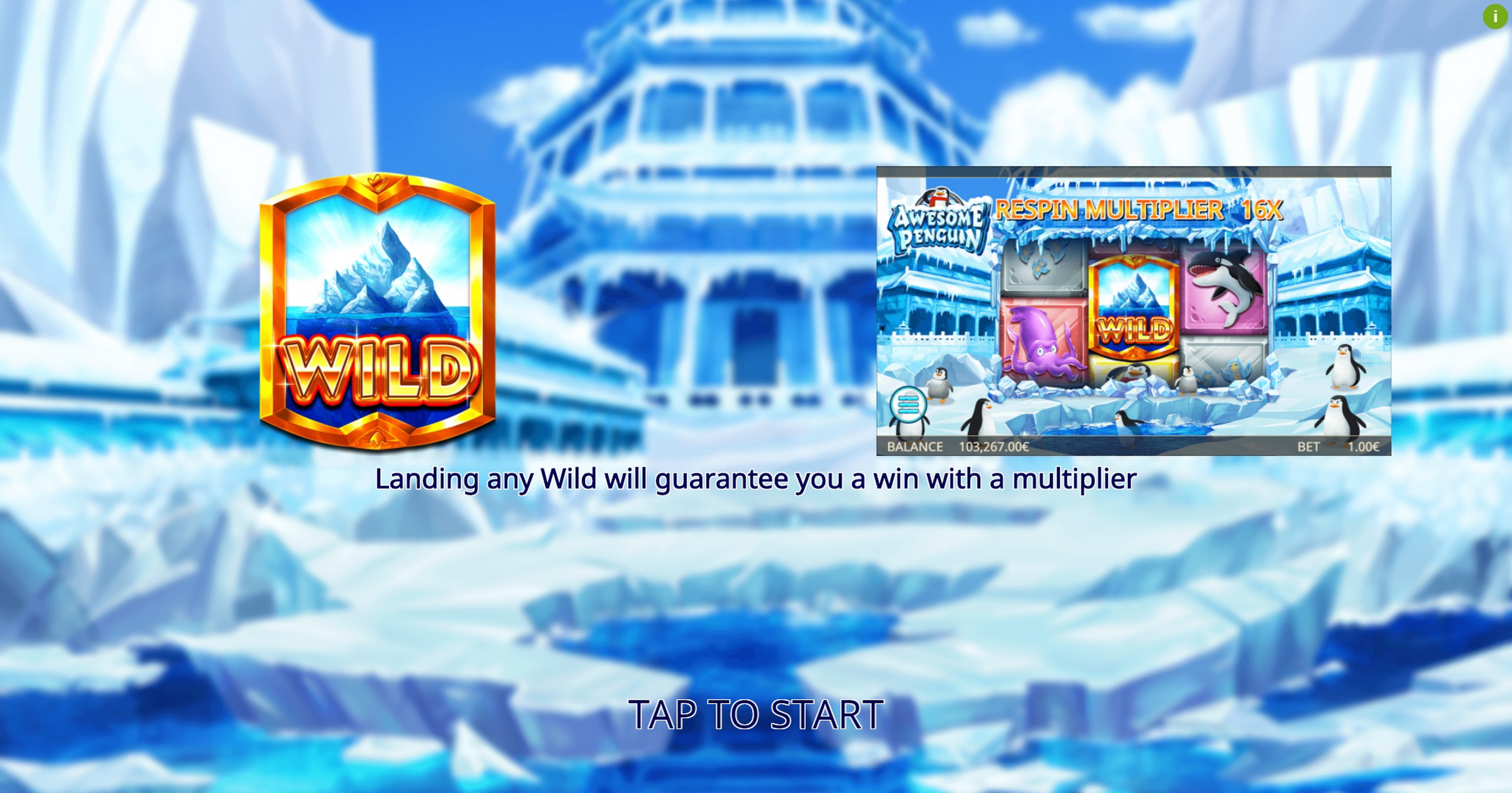 Play Awesome Penguin Free Casino Slot Game by Ganapati