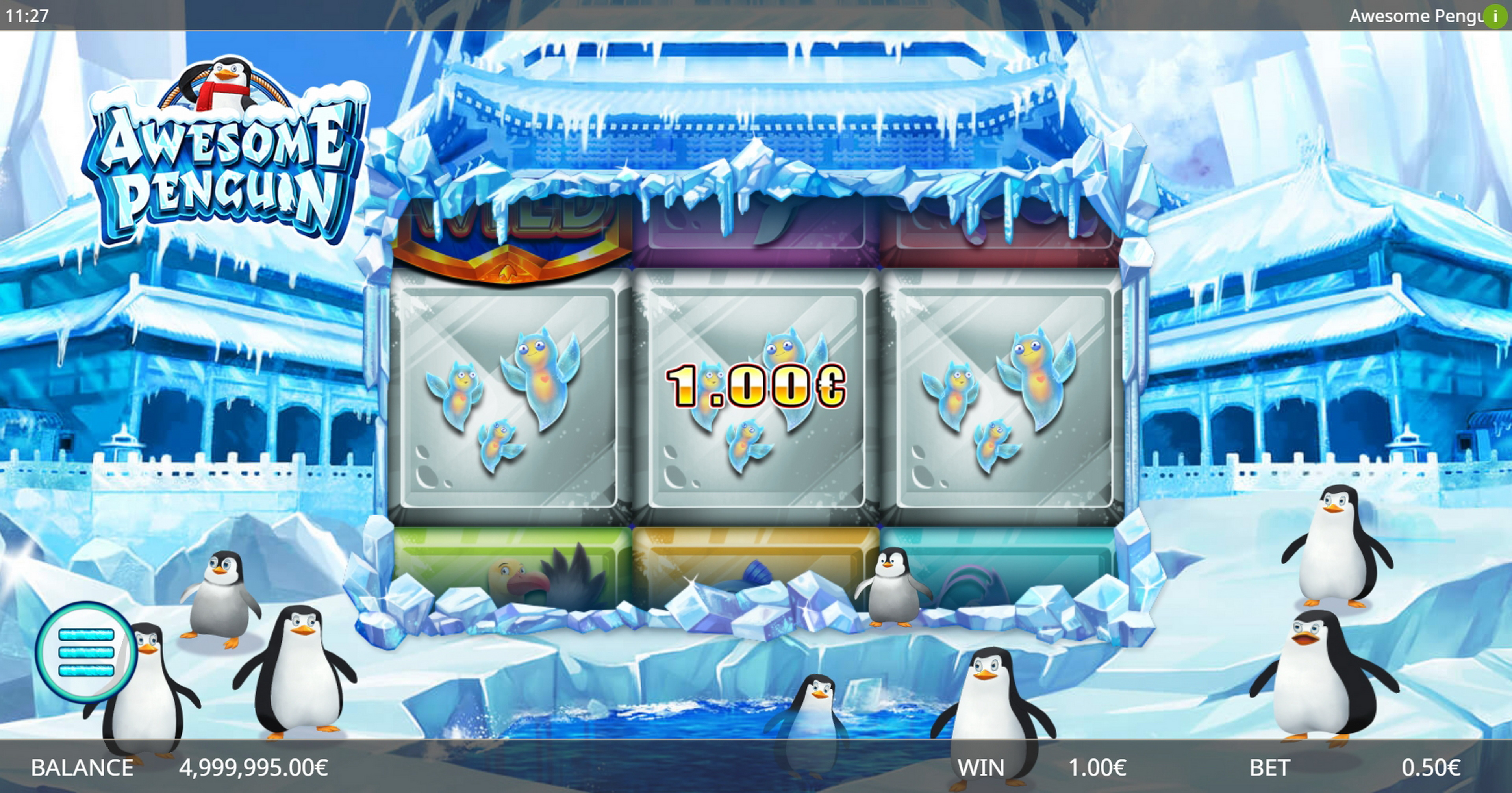 Win Money in Awesome Penguin Free Slot Game by Ganapati