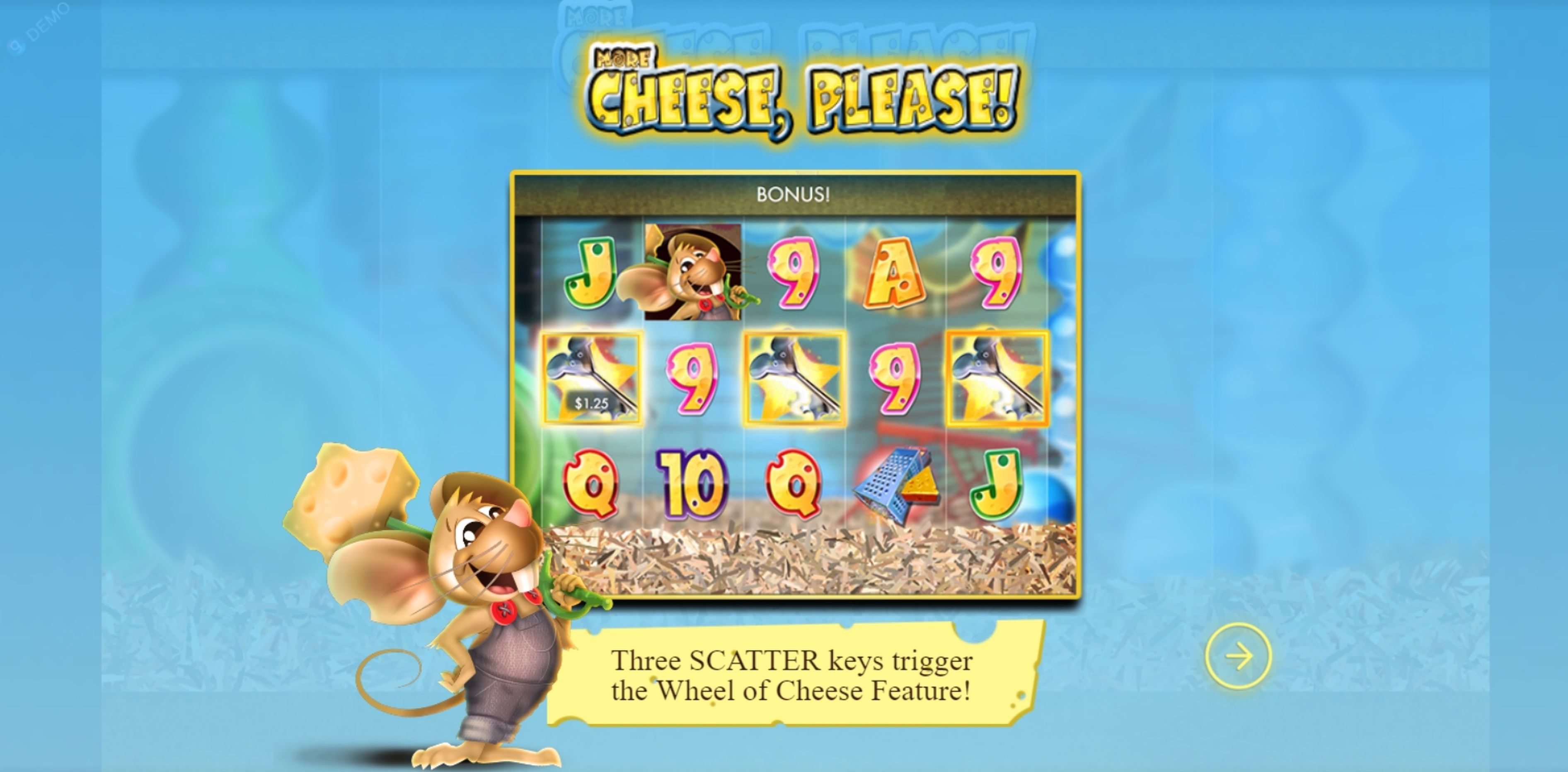 Play More Cheese Please Free Casino Slot Game by Genesis