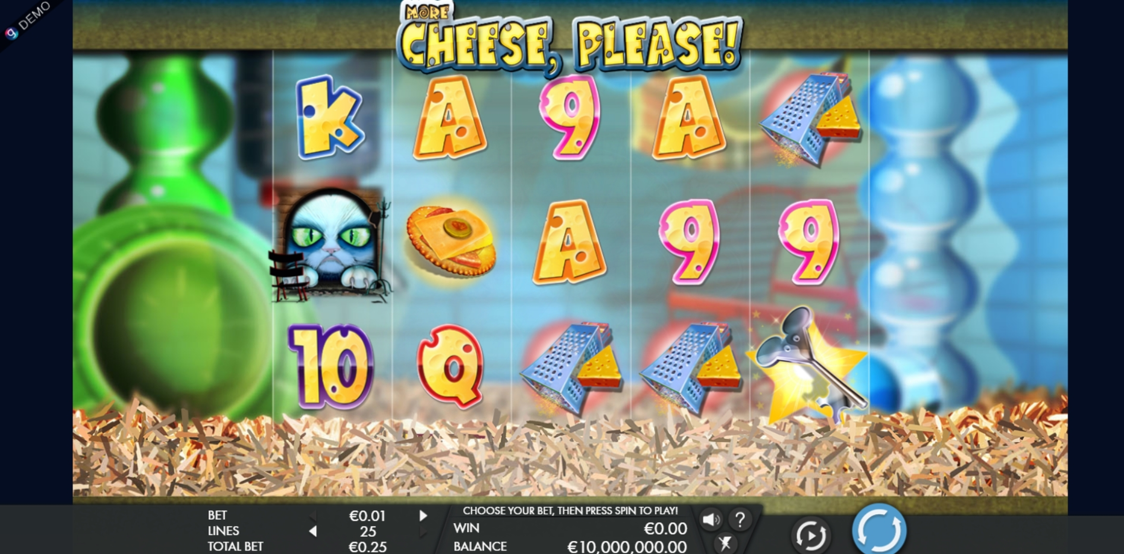 Reels in More Cheese Please Slot Game by Genesis