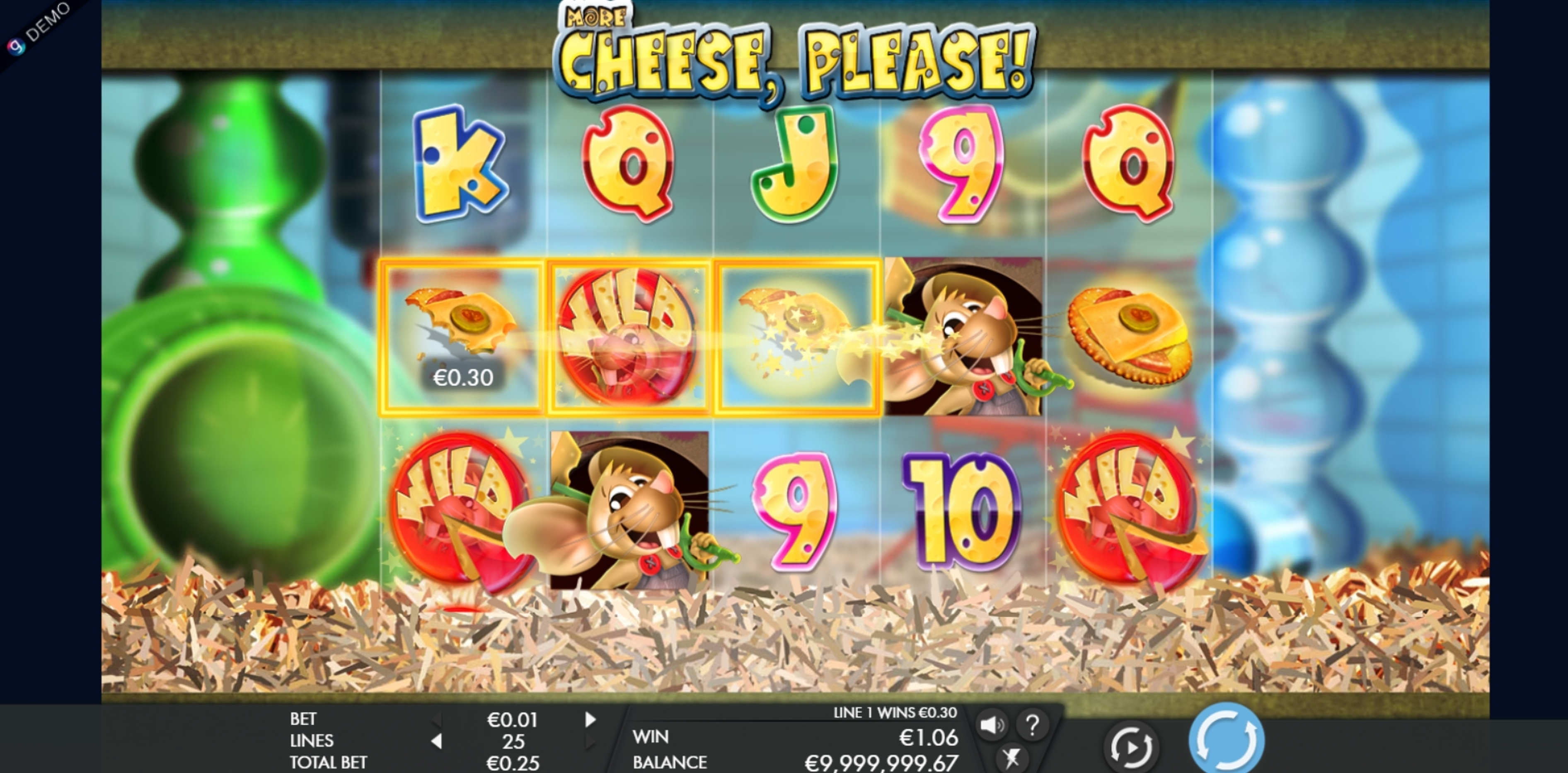 Win Money in More Cheese Please Free Slot Game by Genesis
