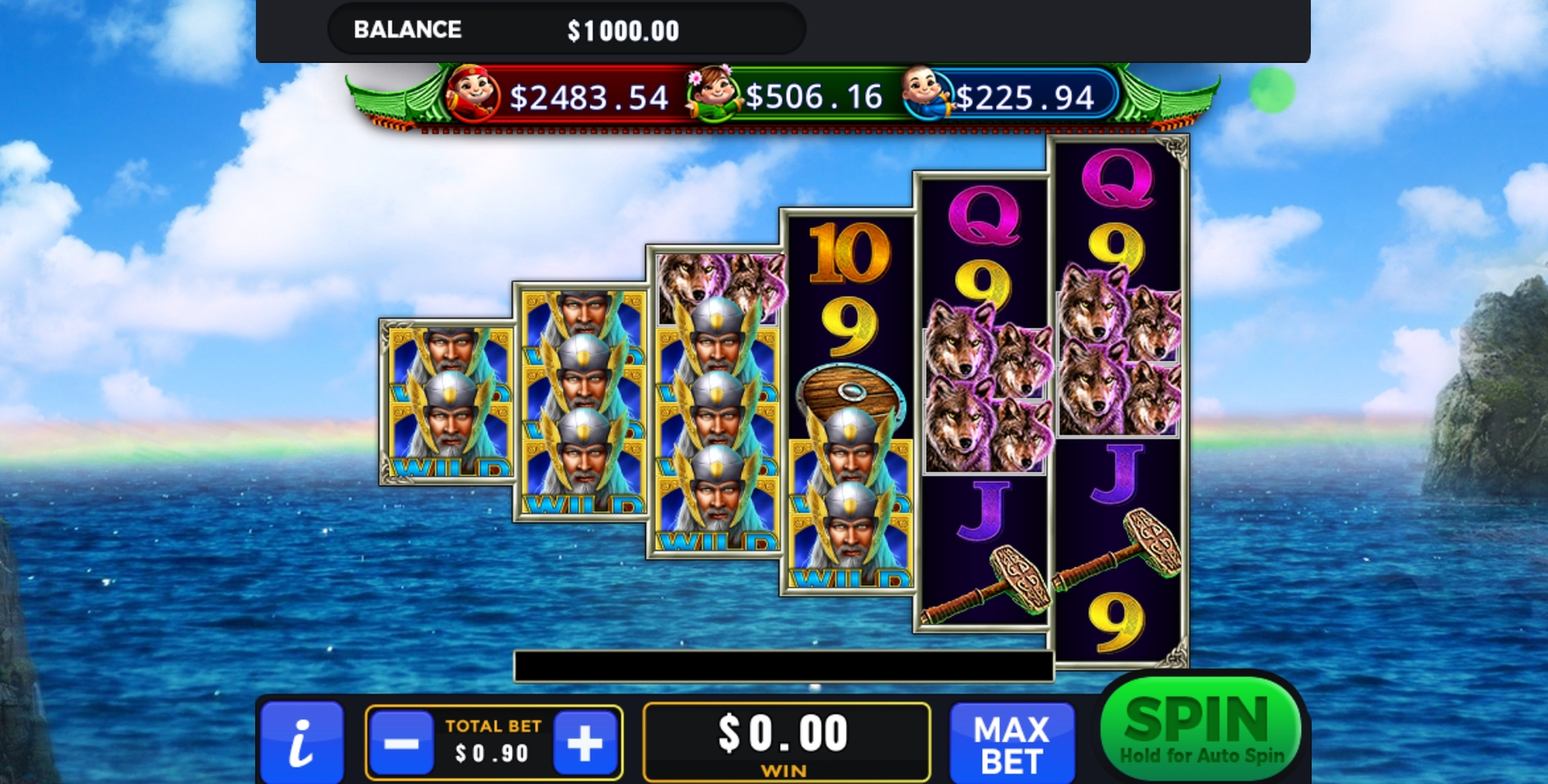 Reels in Asgard (GMW) Slot Game by GMW