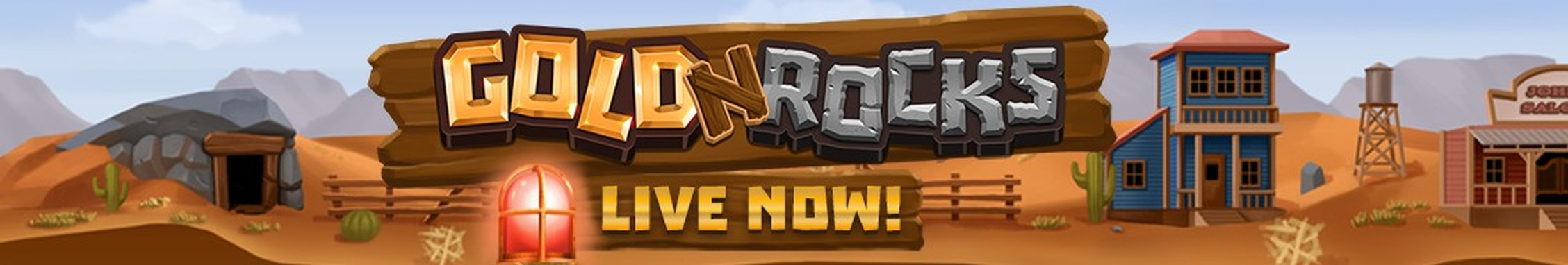 The Gold 'N' Rocks Online Slot Demo Game by Golden Rock Studios