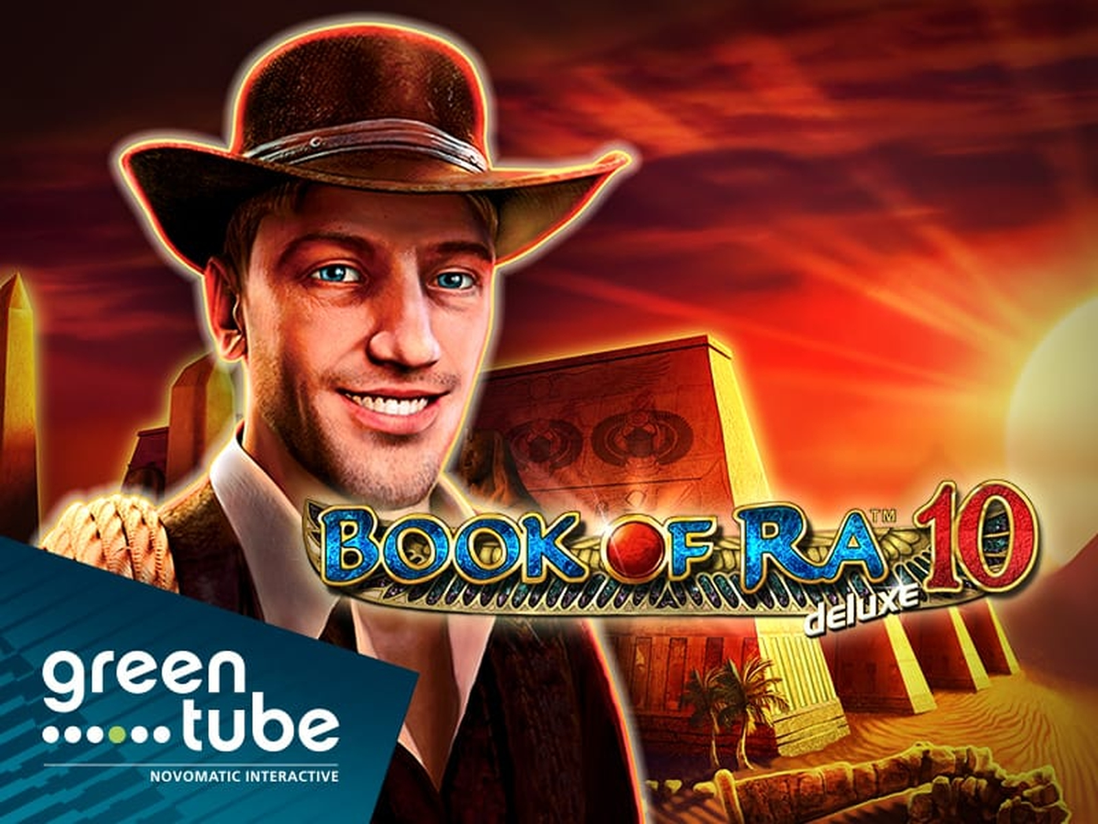The Book of Ra deluxe Online Slot Demo Game by Greentube