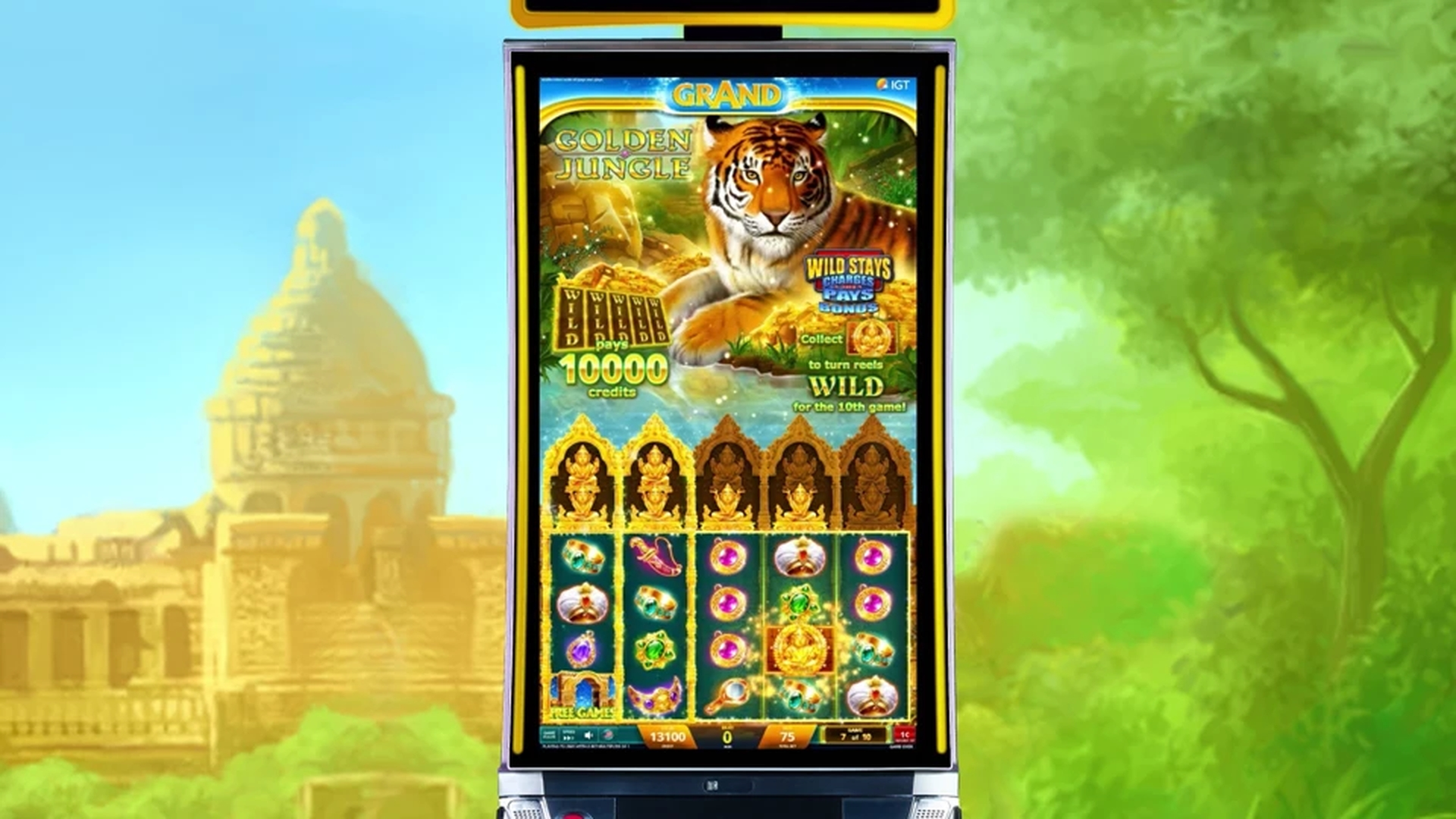 The Golden Jungle Online Slot Demo Game by IGT