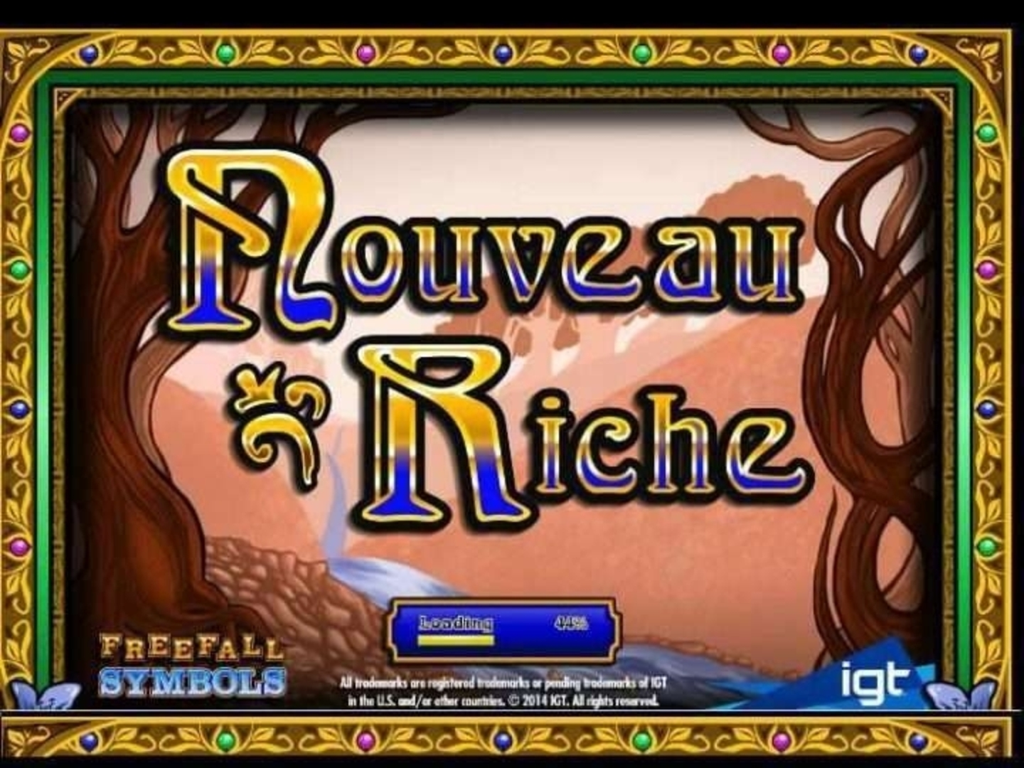 The Nouveau Riche Online Slot Demo Game by IGT