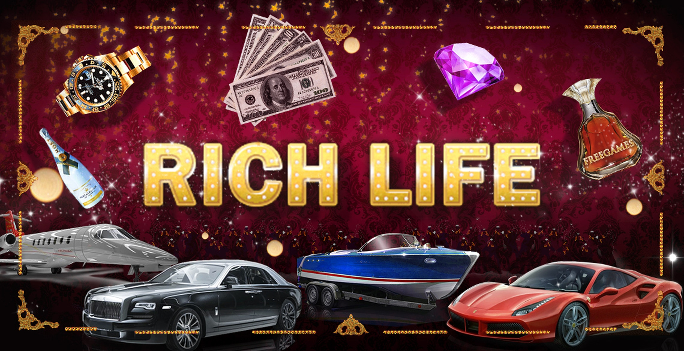 The Diamond Rich Life Online Slot Demo Game by Inbet Games