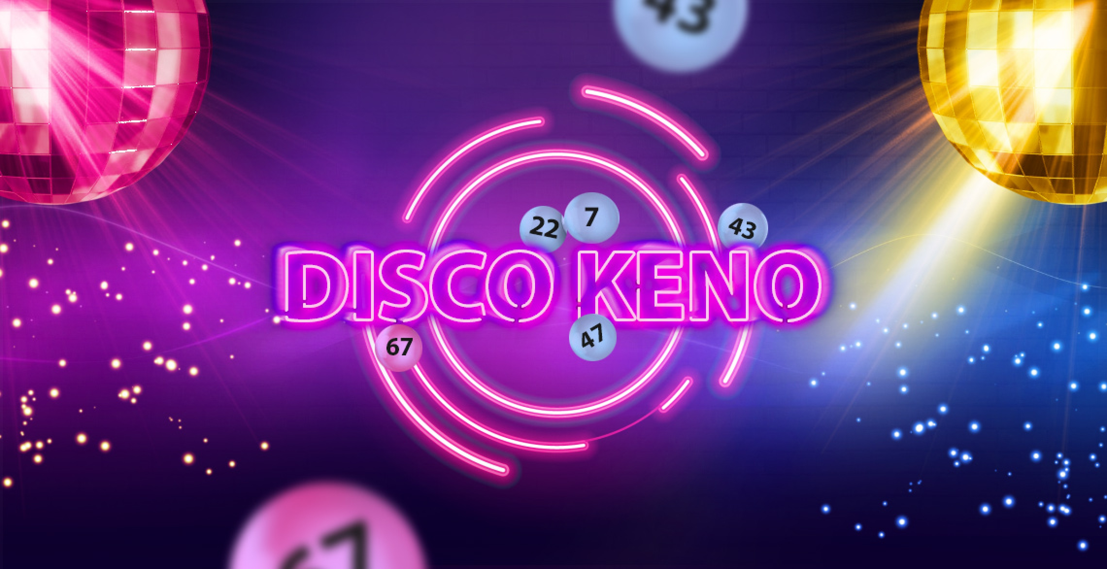 The Disco Keno Online Slot Demo Game by Inbet Games