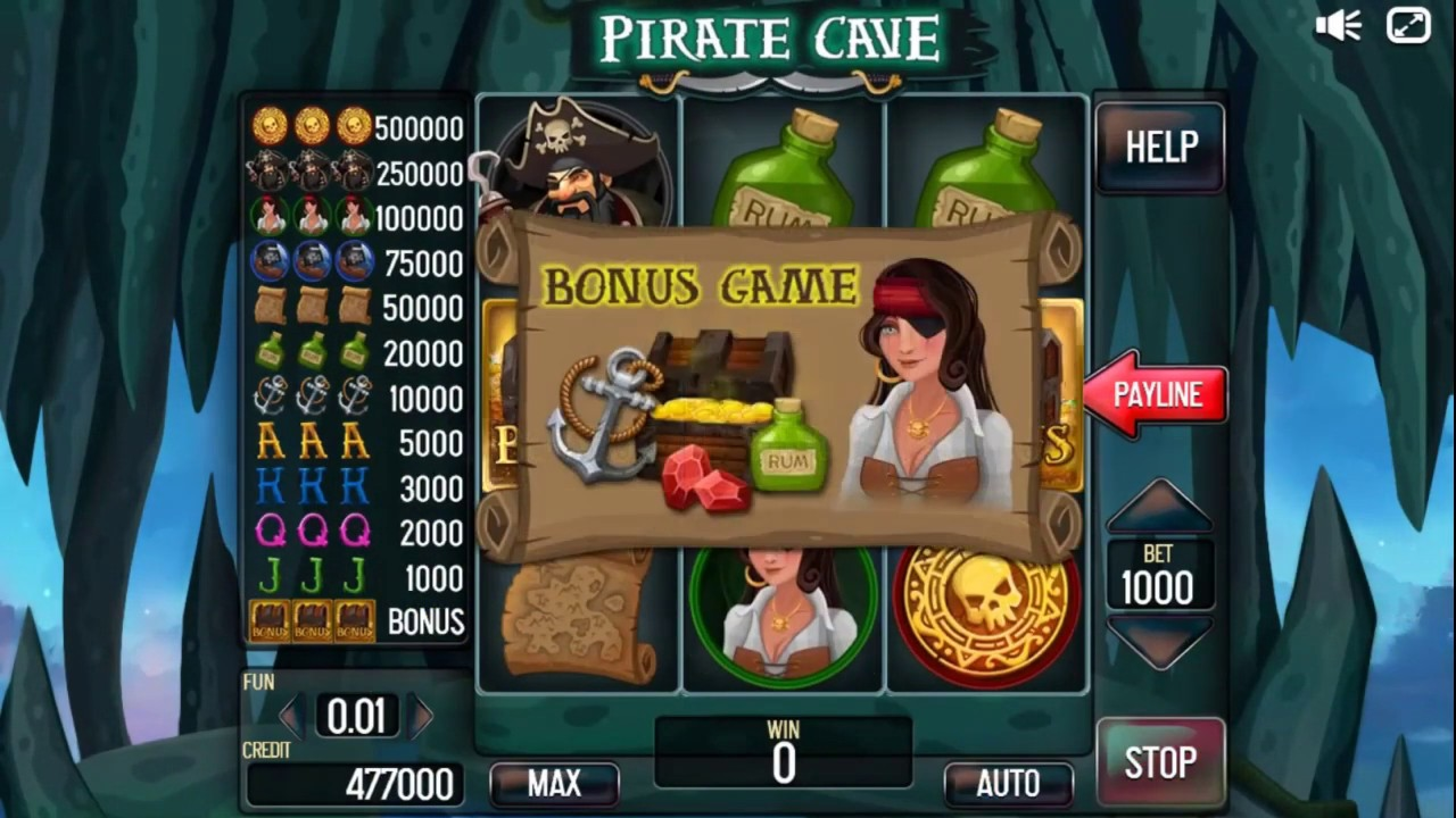 The Pirate Cave (3x3) Online Slot Demo Game by Inbet Games